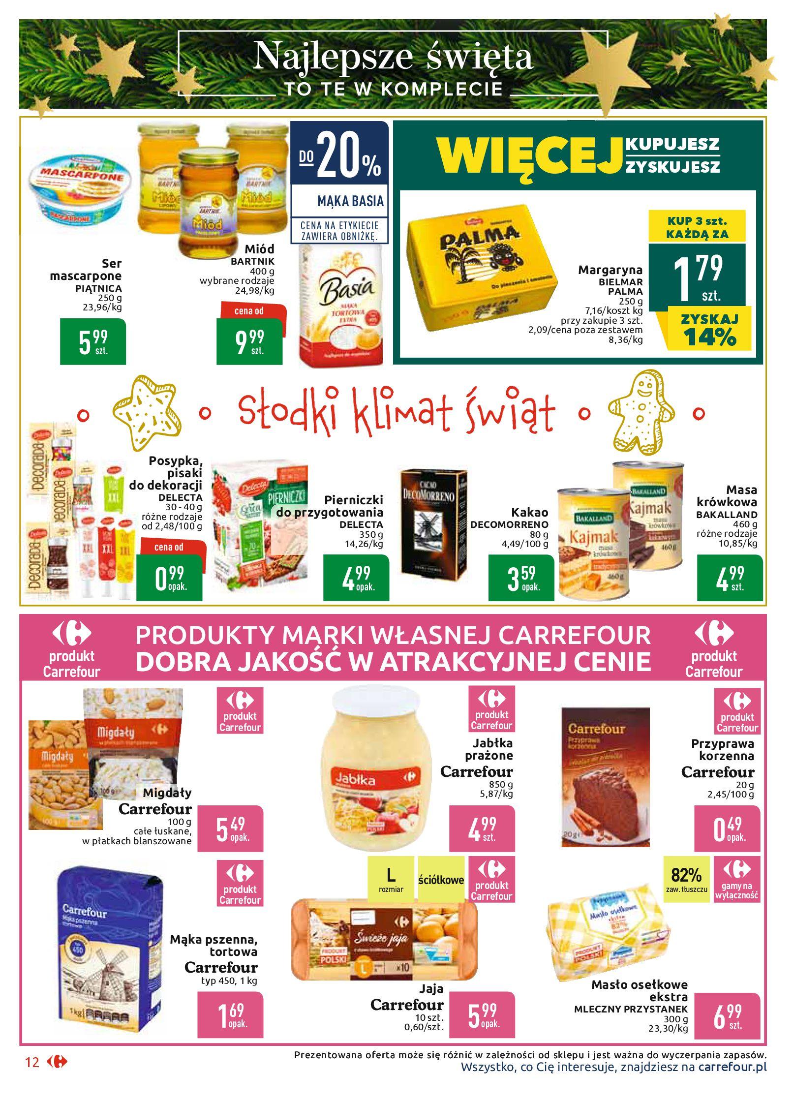 Gazetka Carrefour Market - Najlepszy wybór, najlepsze ceny-25.11.2019-07.12.2019-page-12