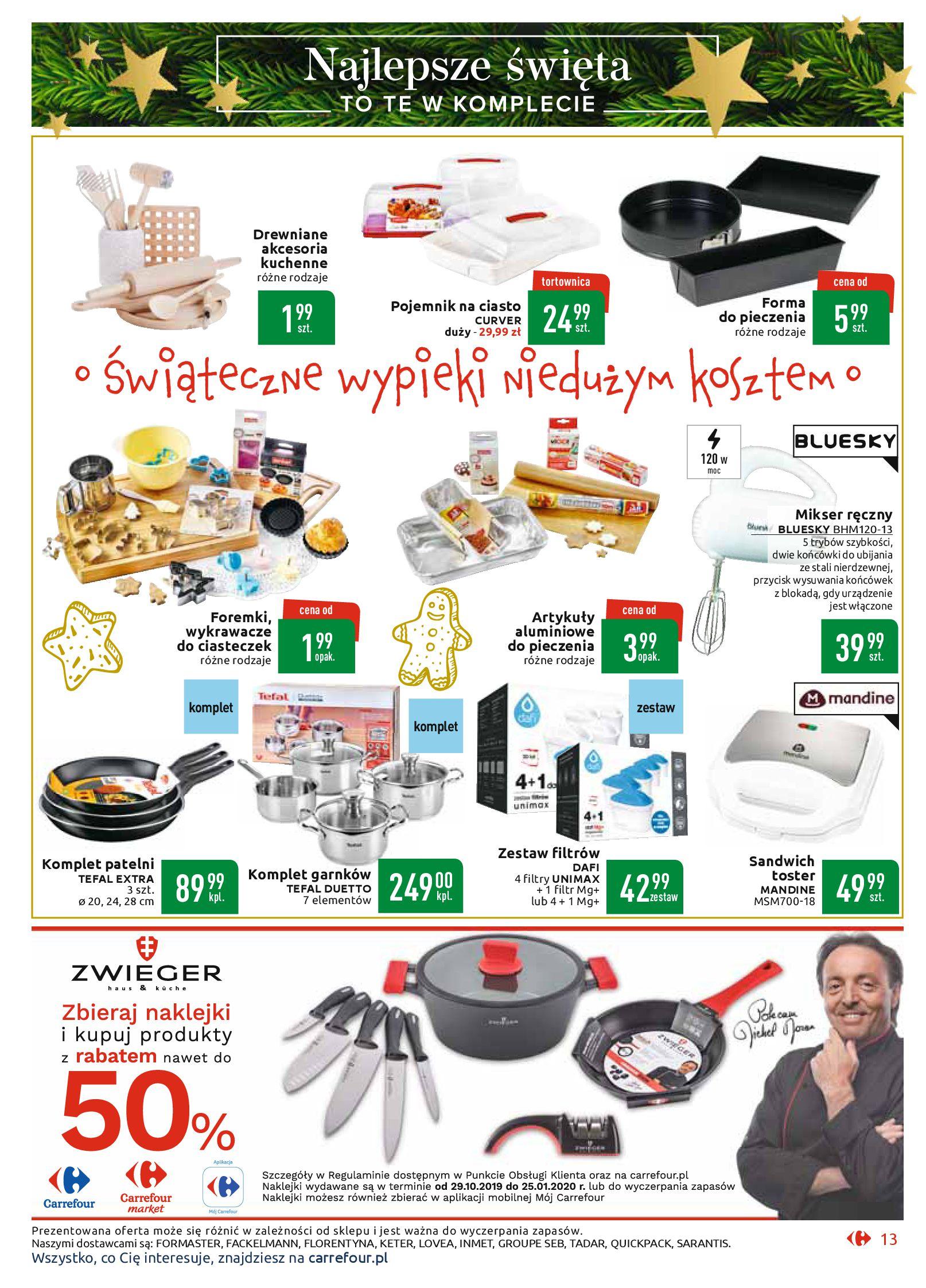Gazetka Carrefour Market - Najlepszy wybór, najlepsze ceny-25.11.2019-07.12.2019-page-13