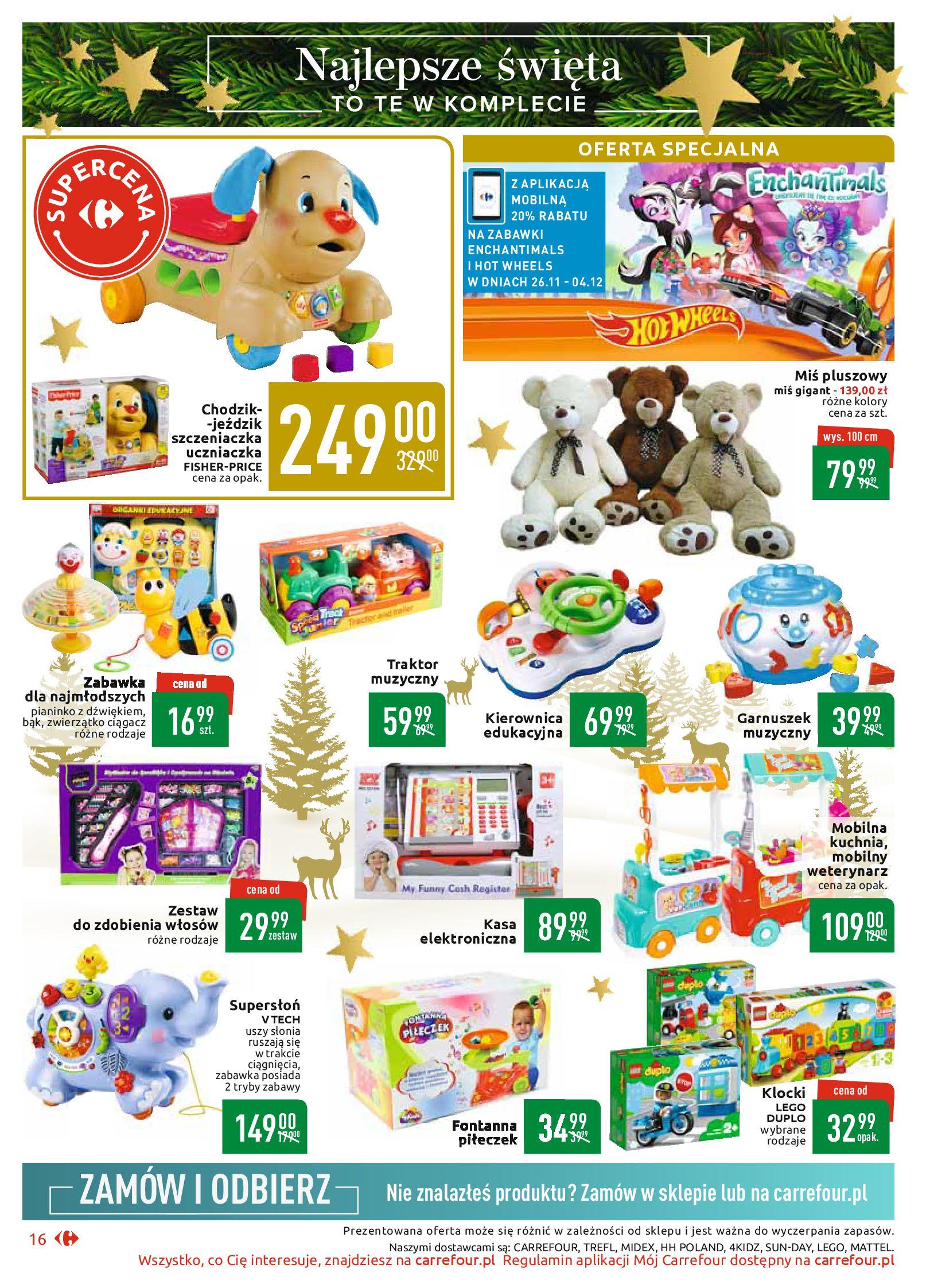 Gazetka Carrefour Market - Najlepszy wybór, najlepsze ceny-25.11.2019-07.12.2019-page-16