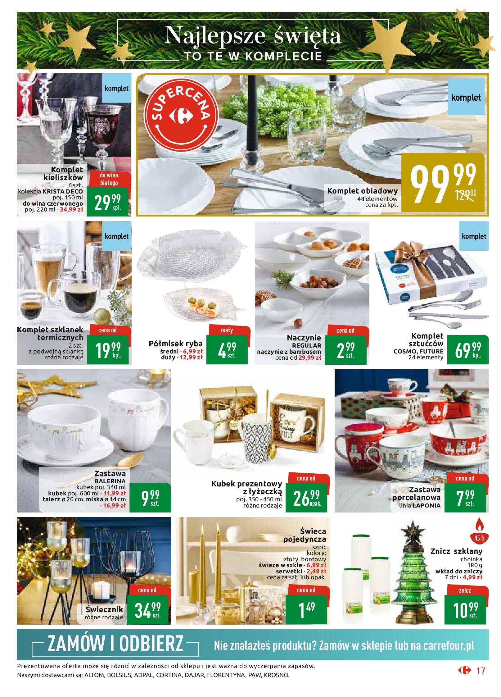 Gazetka Carrefour Market - Najlepszy wybór, najlepsze ceny-25.11.2019-07.12.2019-page-17