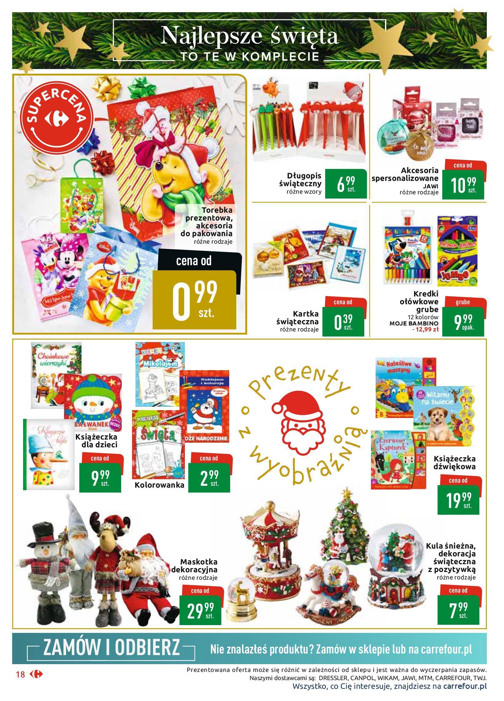 Gazetka Carrefour Market - Najlepszy wybór, najlepsze ceny-25.11.2019-07.12.2019-page-18