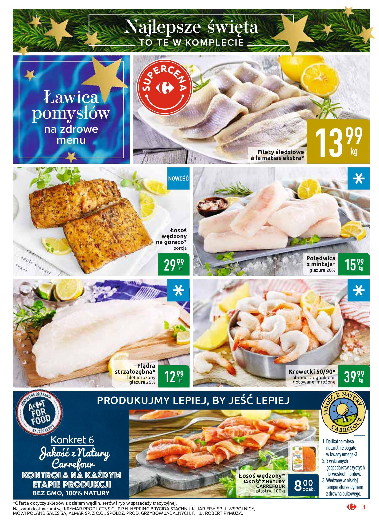 Gazetka Carrefour Market - Najlepszy wybór, najlepsze ceny-25.11.2019-07.12.2019-page-3