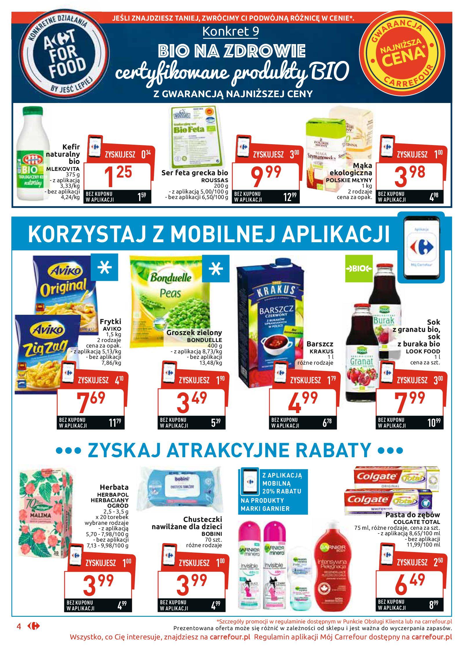 Gazetka Carrefour Market - Najlepszy wybór, najlepsze ceny-25.11.2019-07.12.2019-page-4