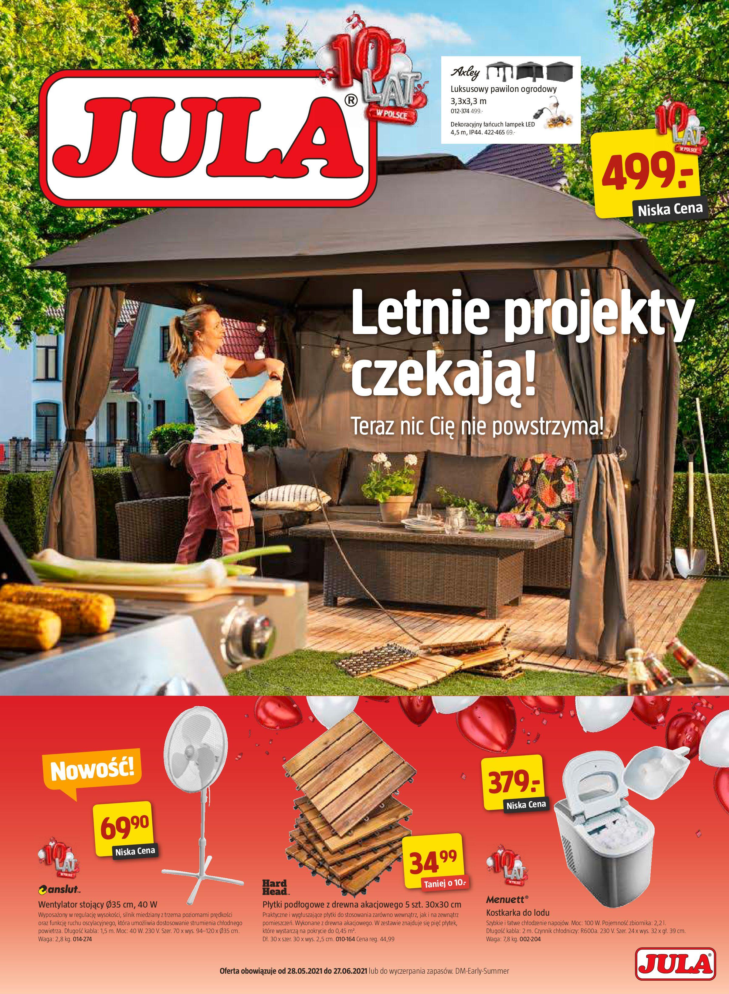 Jula:  Katalog Jula 27.05.2021