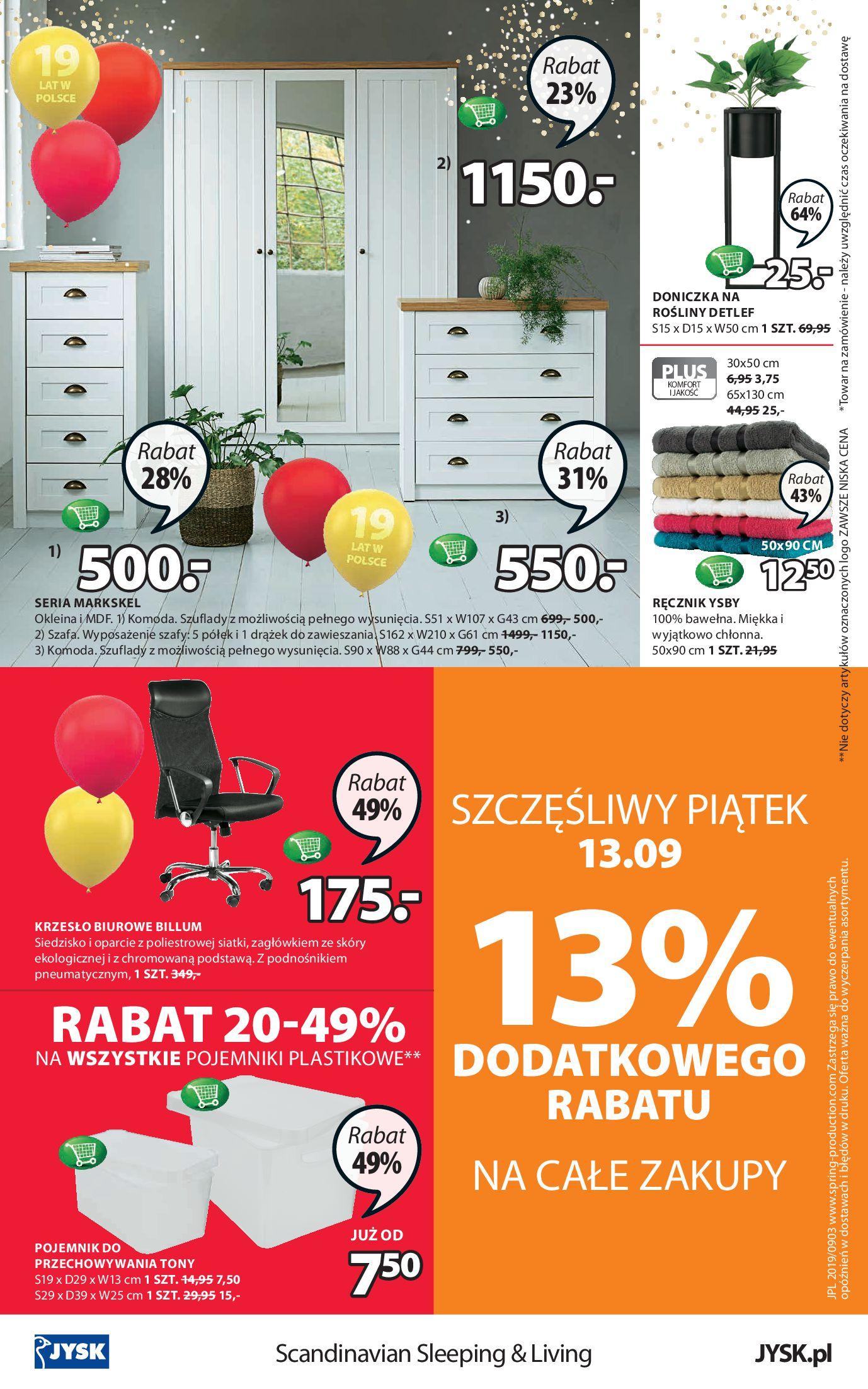 Gazetka Jysk - Oferta tygodnia-11.09.2019-25.09.2019-page-24