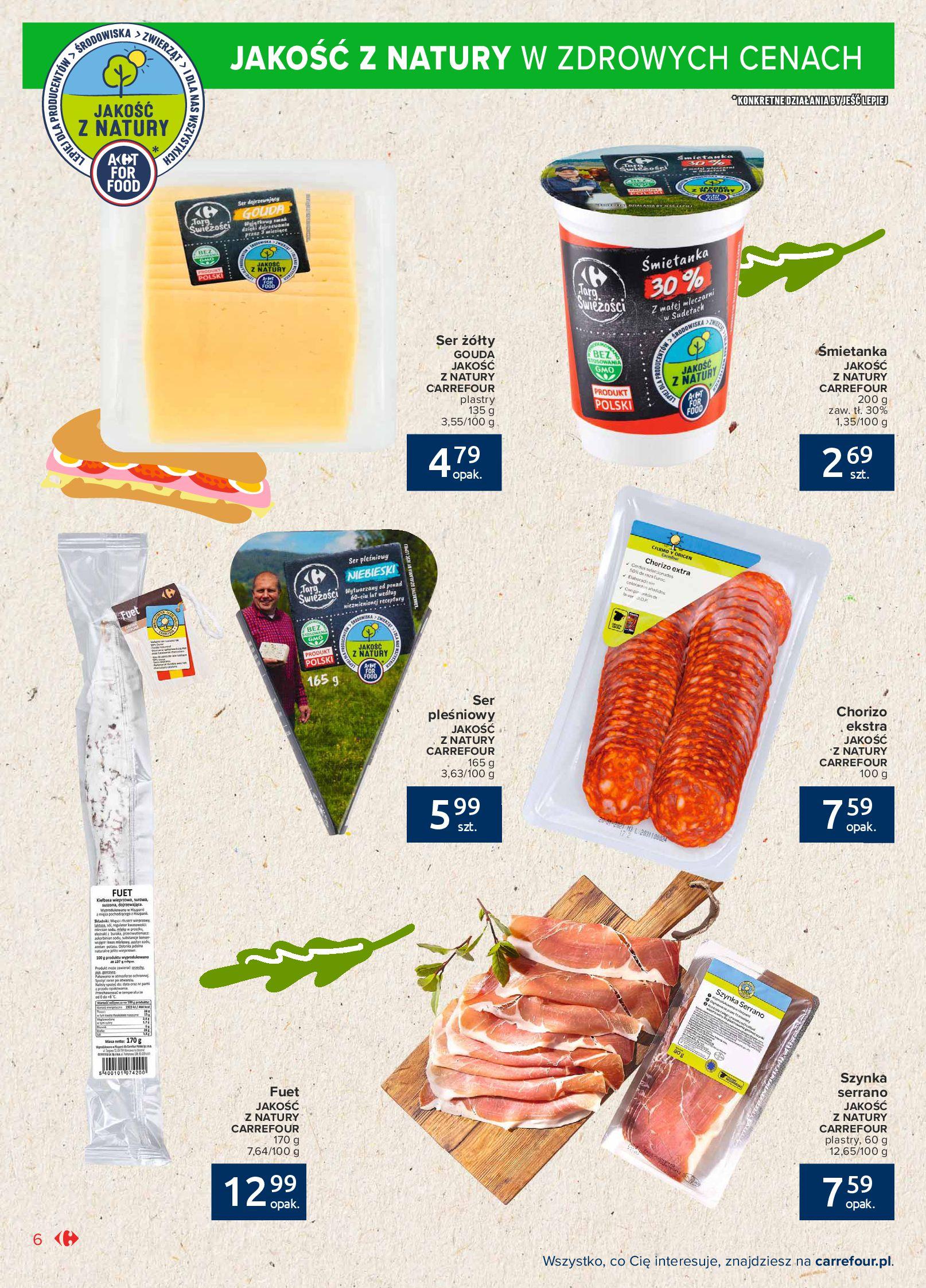 Gazetka Carrefour Market: Gazetka Market - Możemy mądrze jeść 2021-09-14 page-6