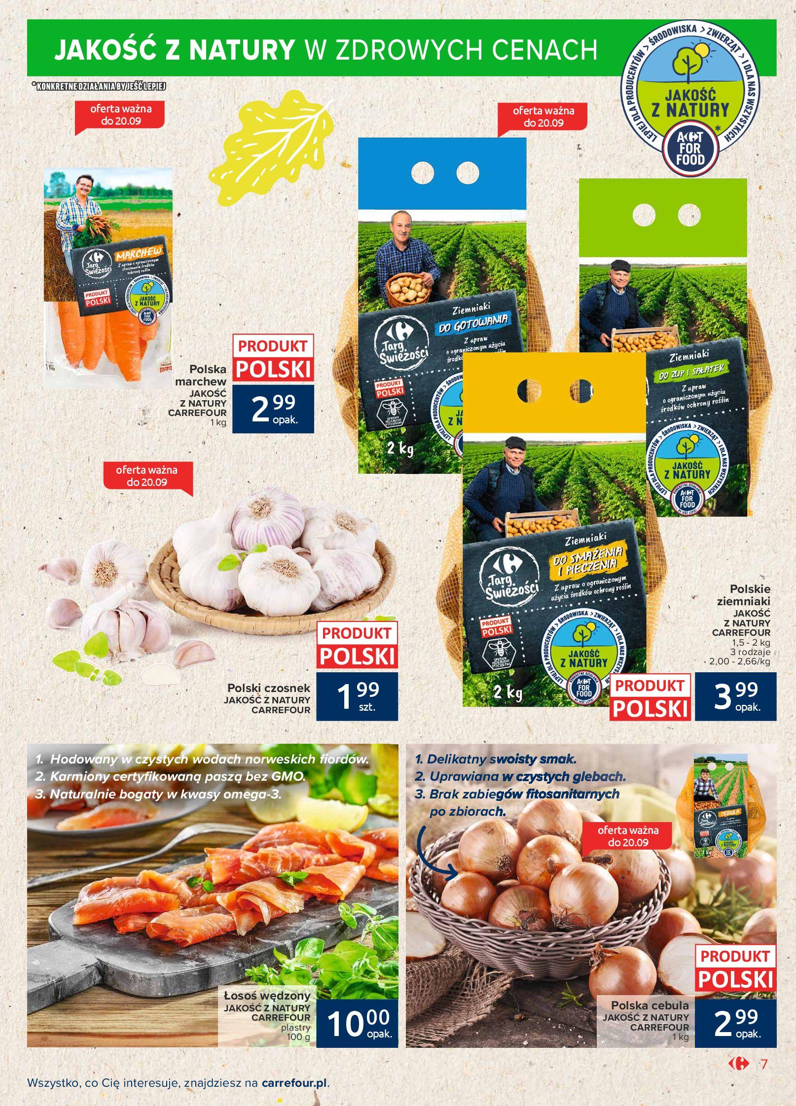 Gazetka Carrefour Market: Gazetka Market - Możemy mądrze jeść 2021-09-14 page-7