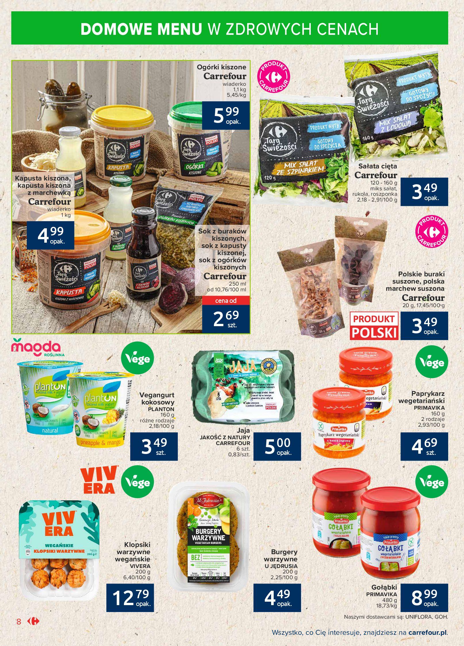 Gazetka Carrefour Market: Gazetka Market - Możemy mądrze jeść 2021-09-14 page-8