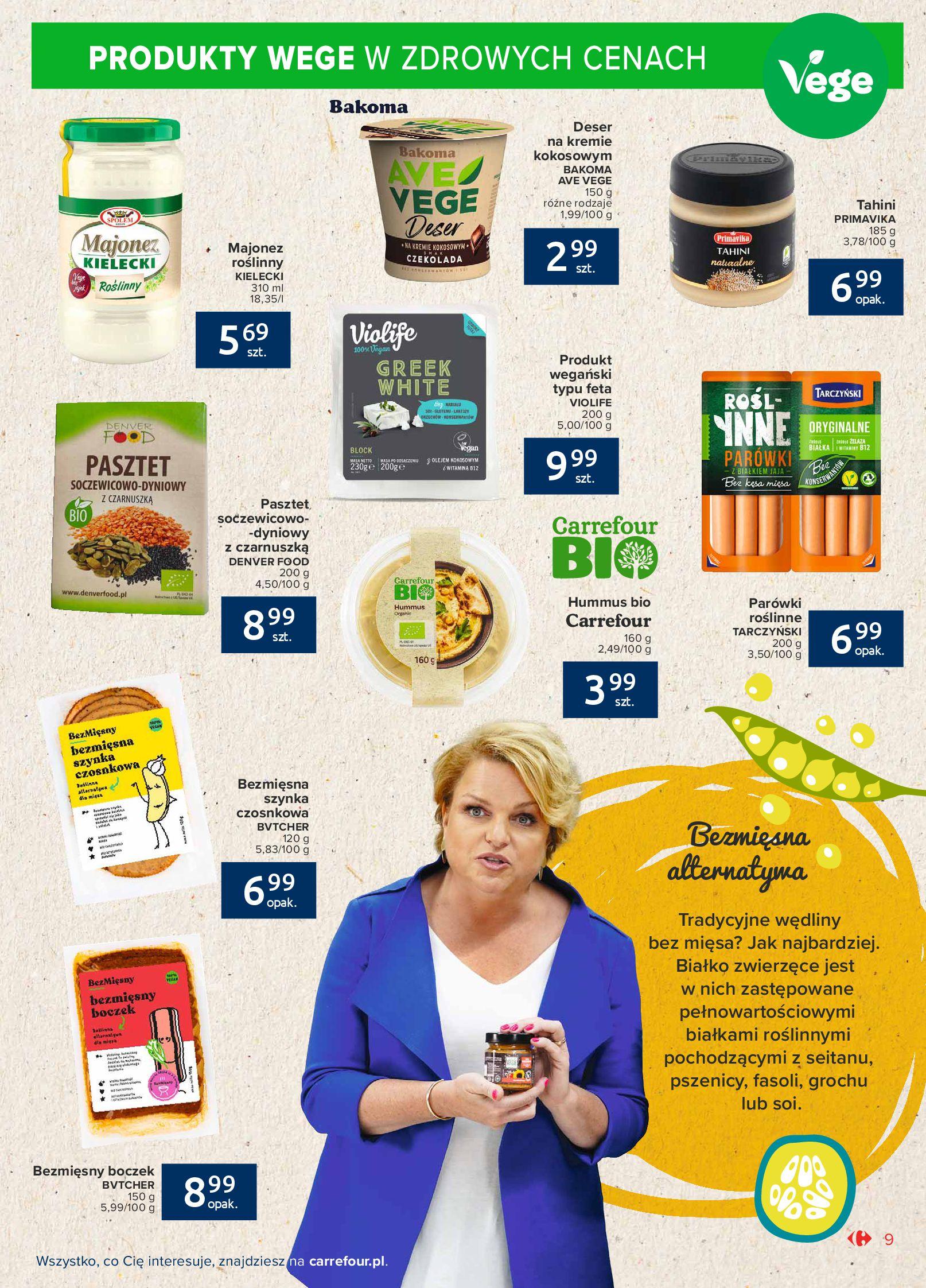 Gazetka Carrefour Market: Gazetka Market - Możemy mądrze jeść 2021-09-14 page-9