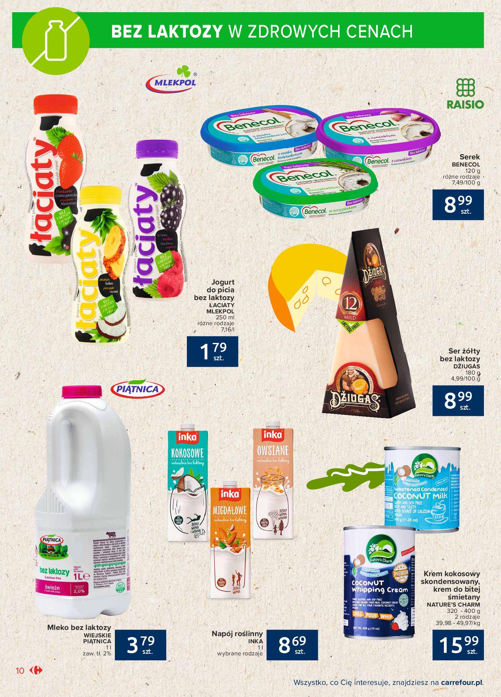 Gazetka Carrefour Market: Gazetka Market - Możemy mądrze jeść 2021-09-14 page-10