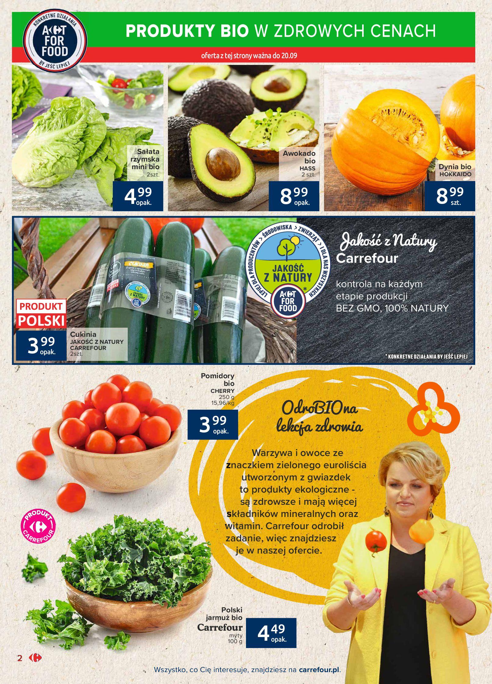 Gazetka Carrefour Market: Gazetka Market - Możemy mądrze jeść 2021-09-14 page-2