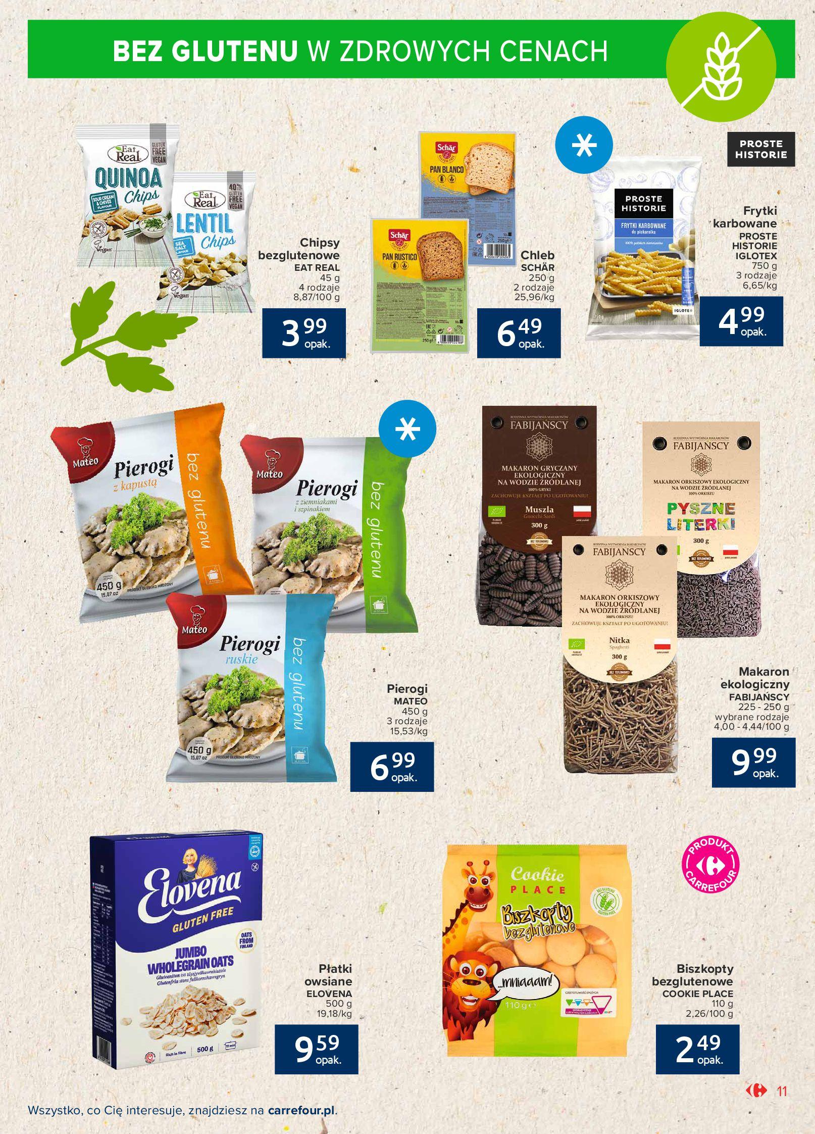 Gazetka Carrefour Market: Gazetka Market - Możemy mądrze jeść 2021-09-14 page-11