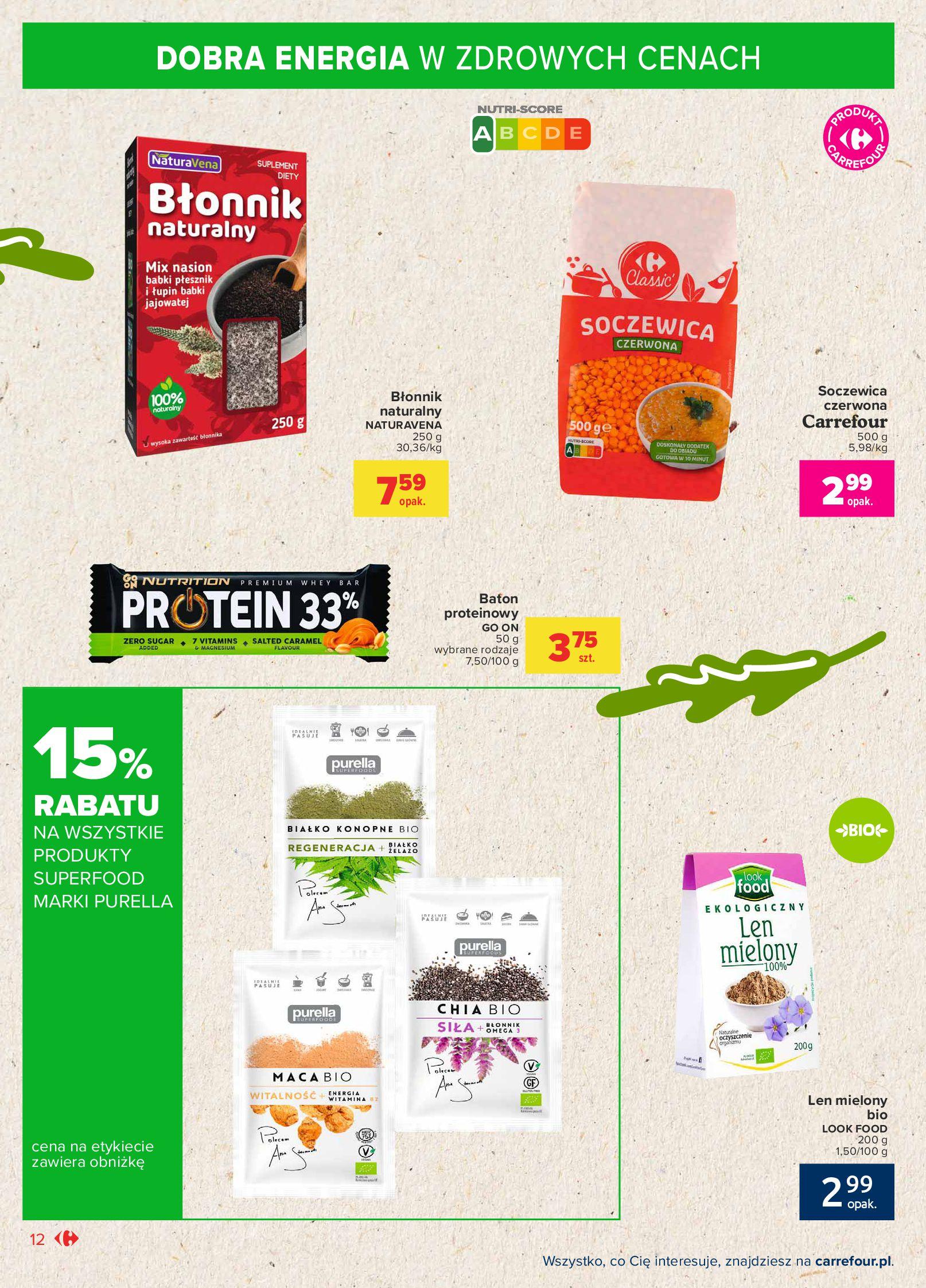 Gazetka Carrefour Market: Gazetka Market - Możemy mądrze jeść 2021-09-14 page-12