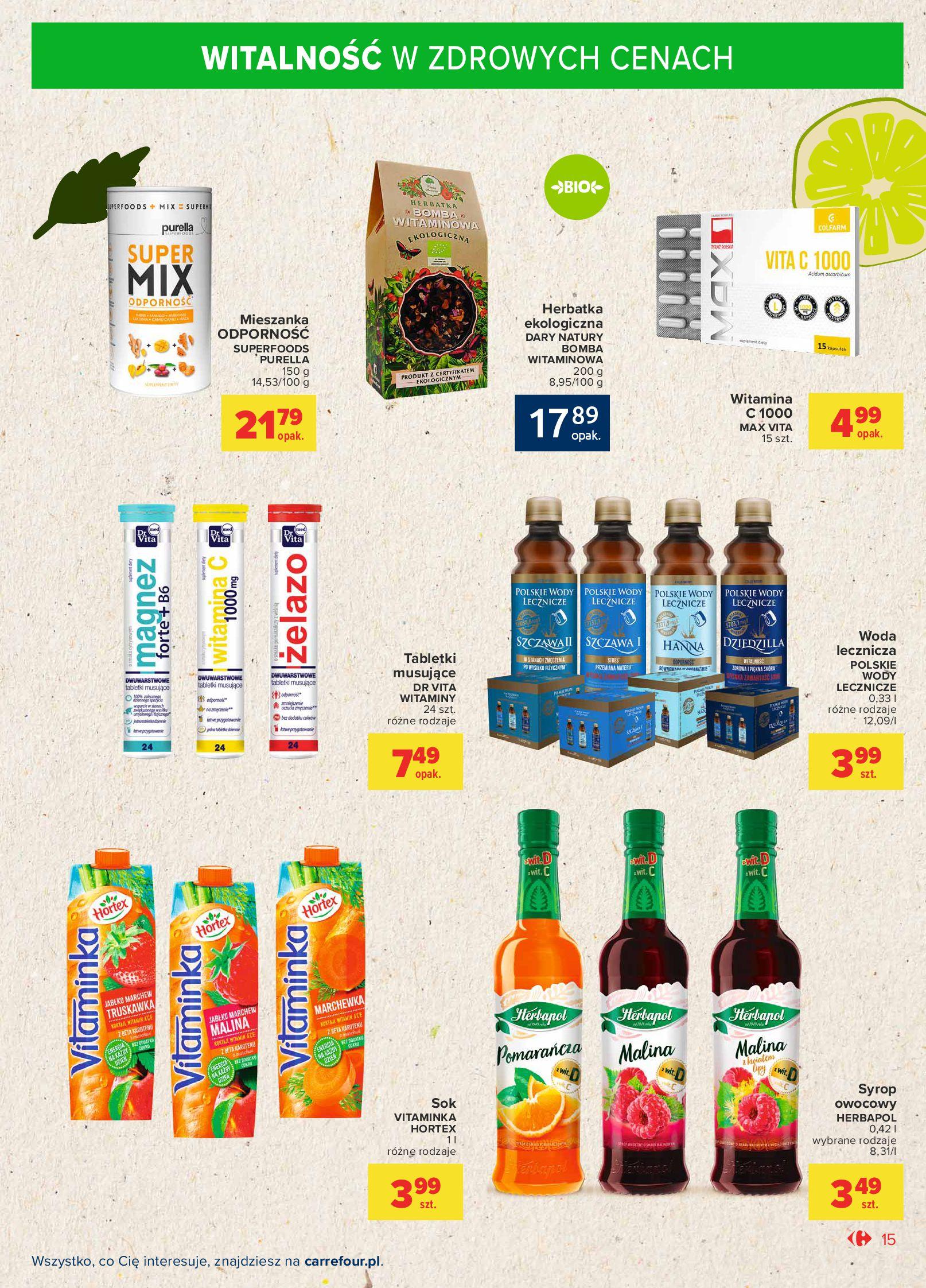 Gazetka Carrefour Market: Gazetka Market - Możemy mądrze jeść 2021-09-14 page-15