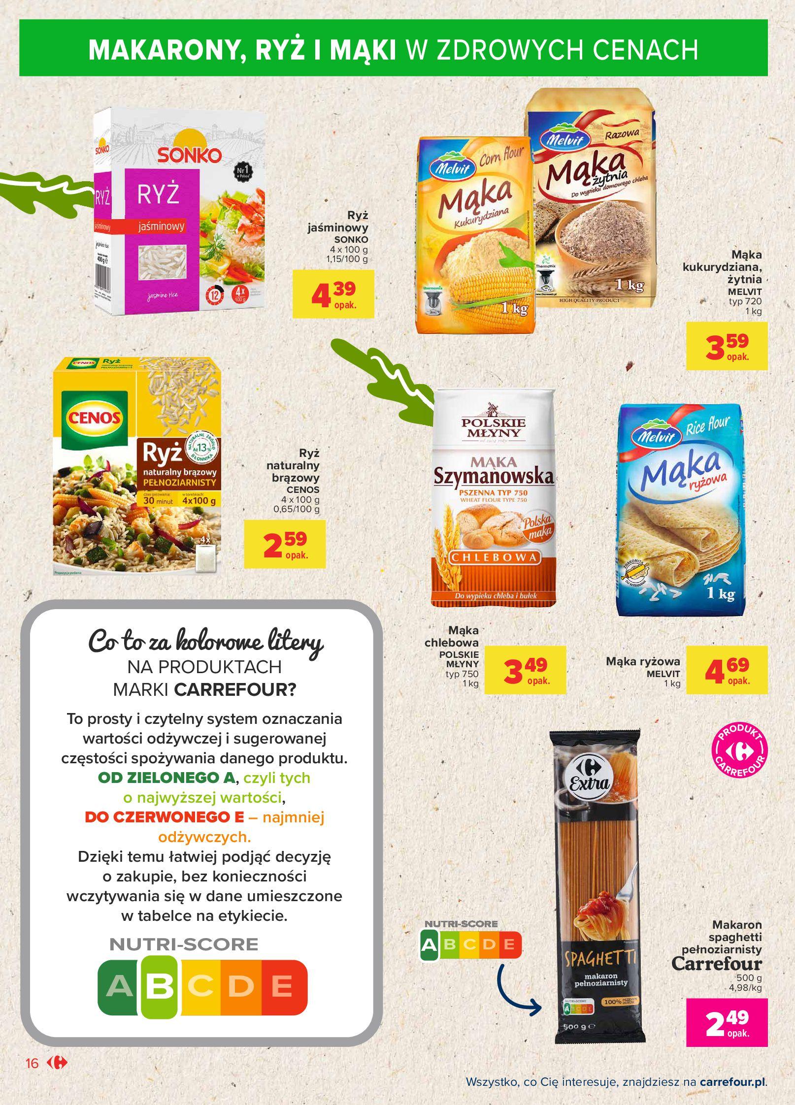 Gazetka Carrefour Market: Gazetka Market - Możemy mądrze jeść 2021-09-14 page-16
