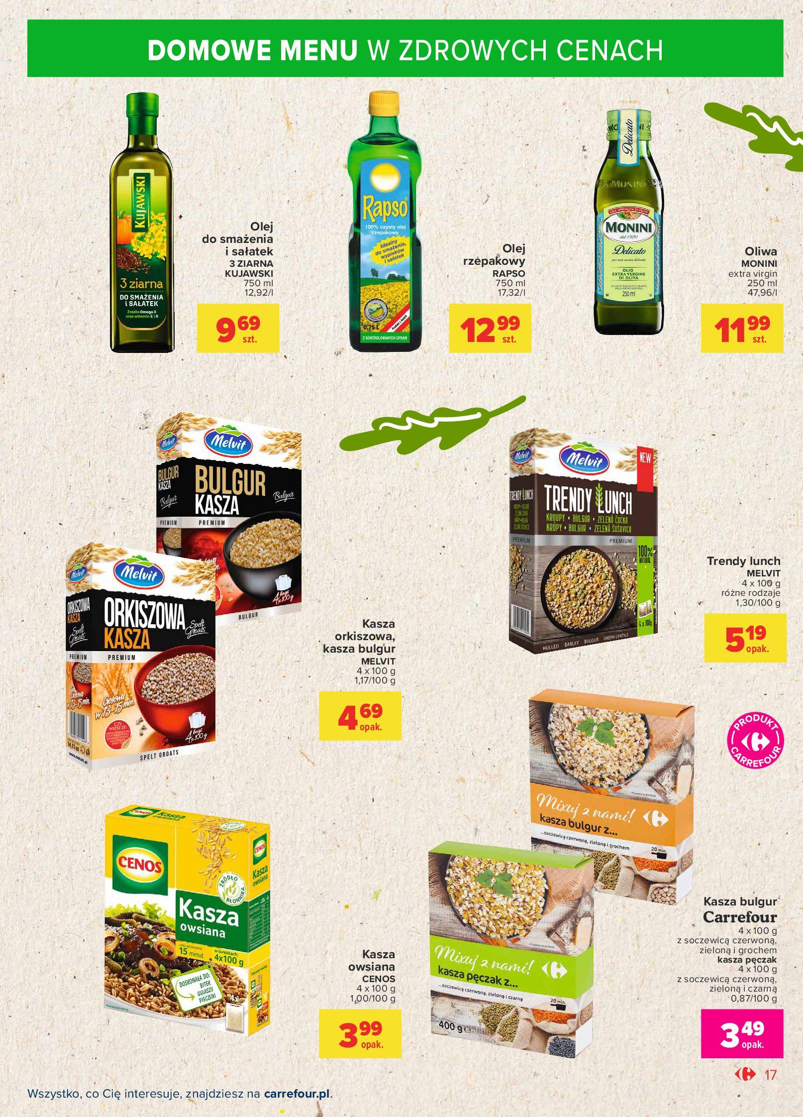 Gazetka Carrefour Market: Gazetka Market - Możemy mądrze jeść 2021-09-14 page-17