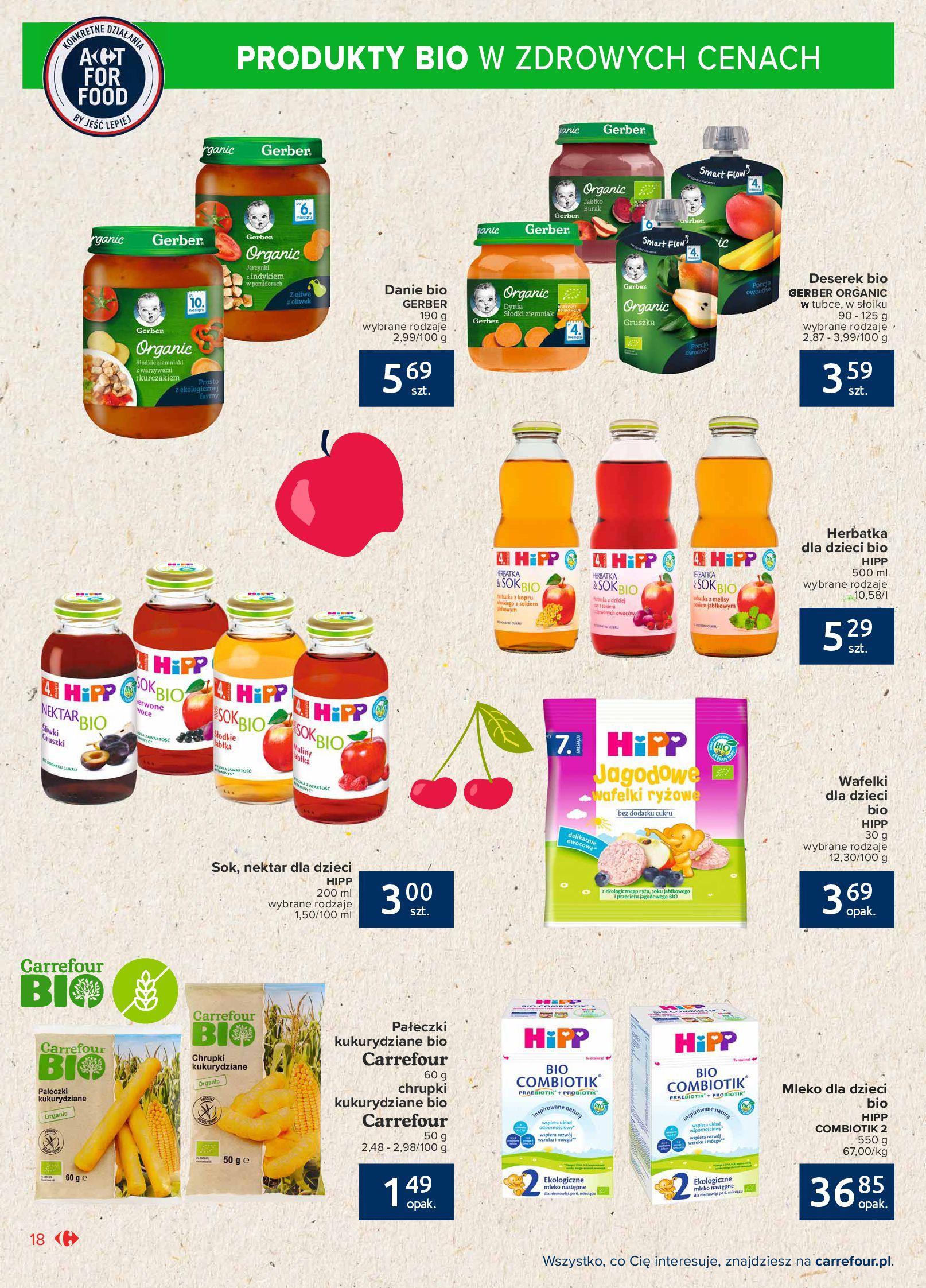Gazetka Carrefour Market: Gazetka Market - Możemy mądrze jeść 2021-09-14 page-18