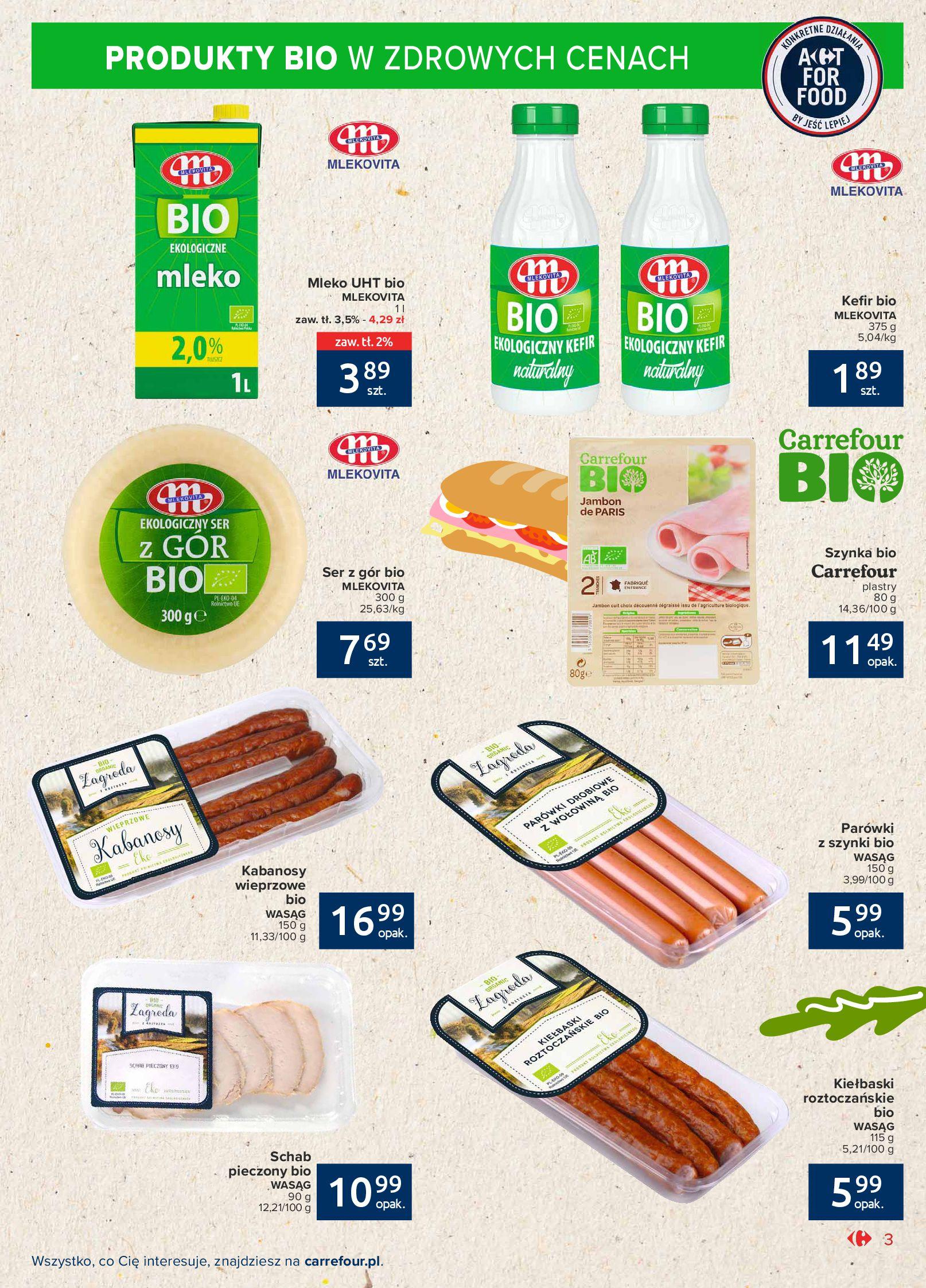 Gazetka Carrefour Market: Gazetka Market - Możemy mądrze jeść 2021-09-14 page-3