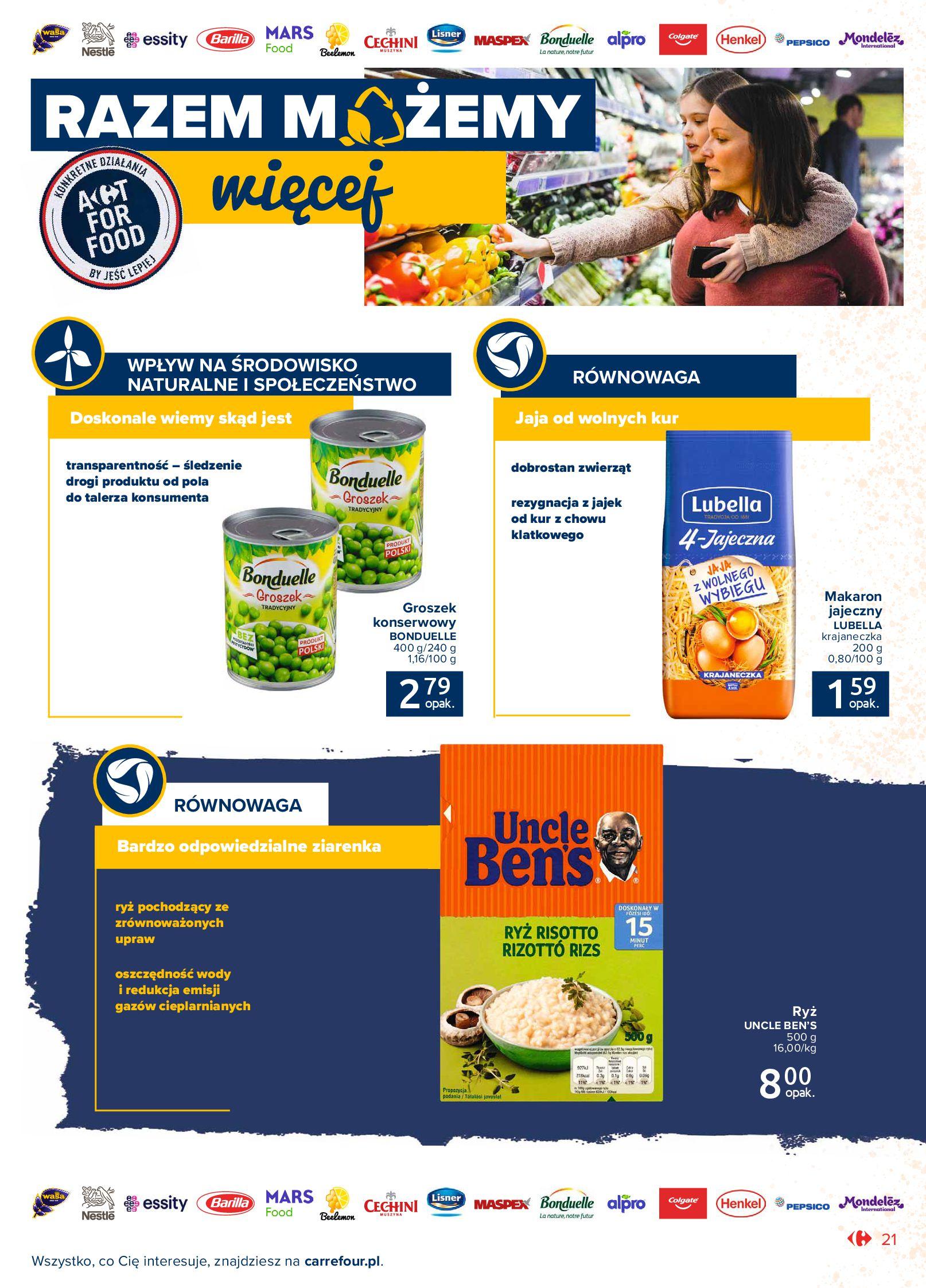 Gazetka Carrefour Market: Gazetka Market - Możemy mądrze jeść 2021-09-14 page-21