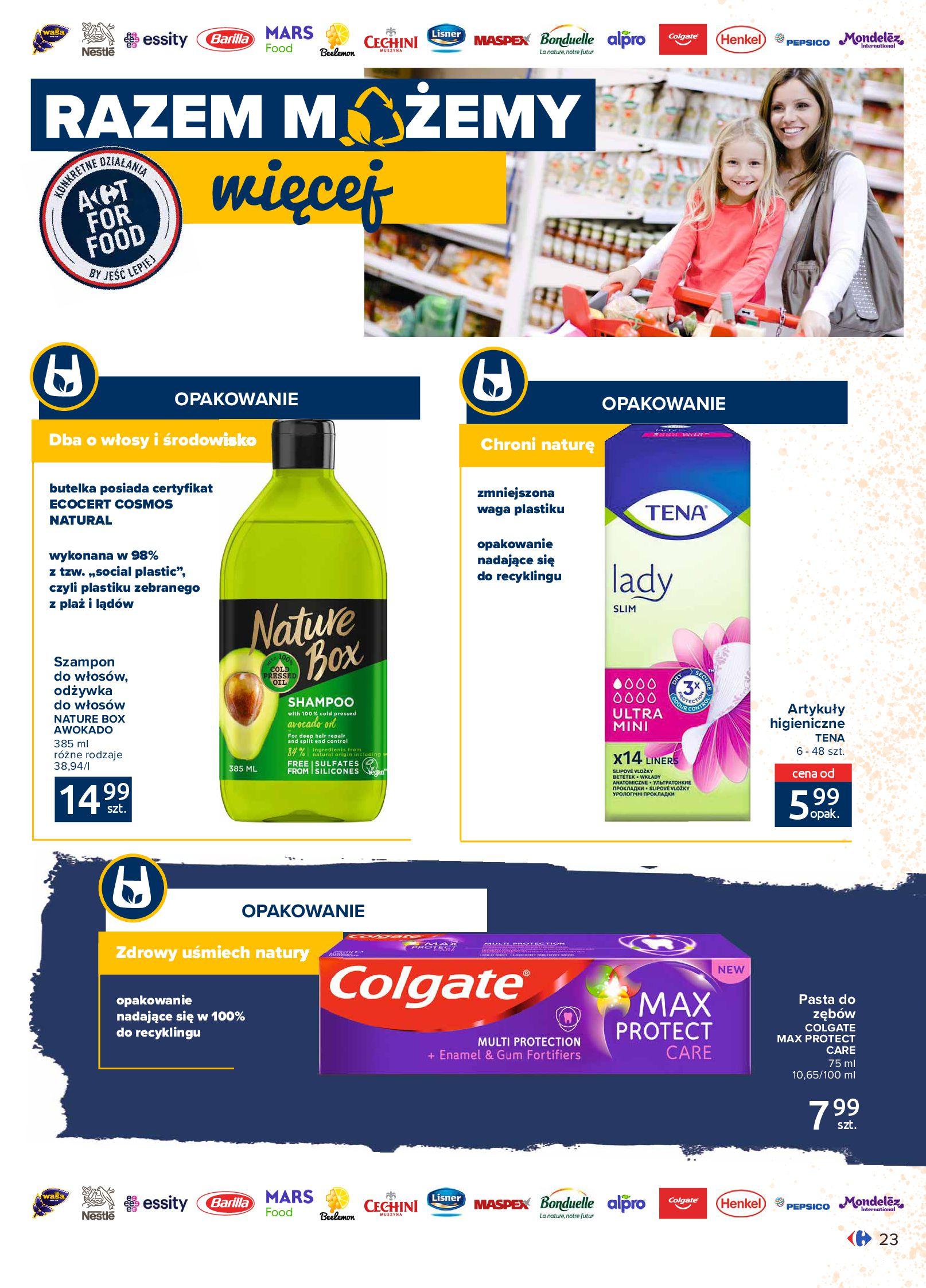 Gazetka Carrefour Market: Gazetka Market - Możemy mądrze jeść 2021-09-14 page-23