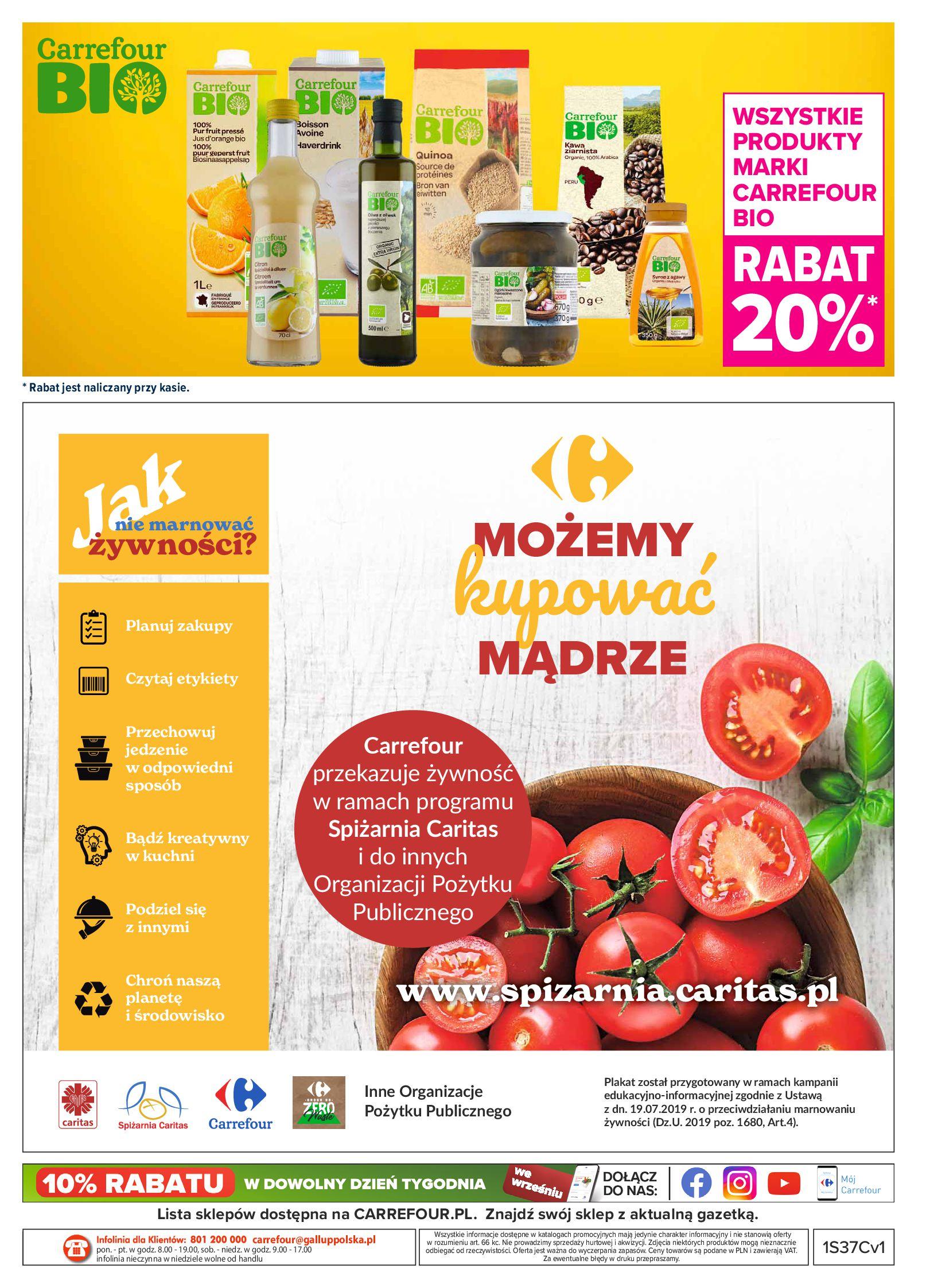 Gazetka Carrefour Market: Gazetka Market - Możemy mądrze jeść 2021-09-14 page-24