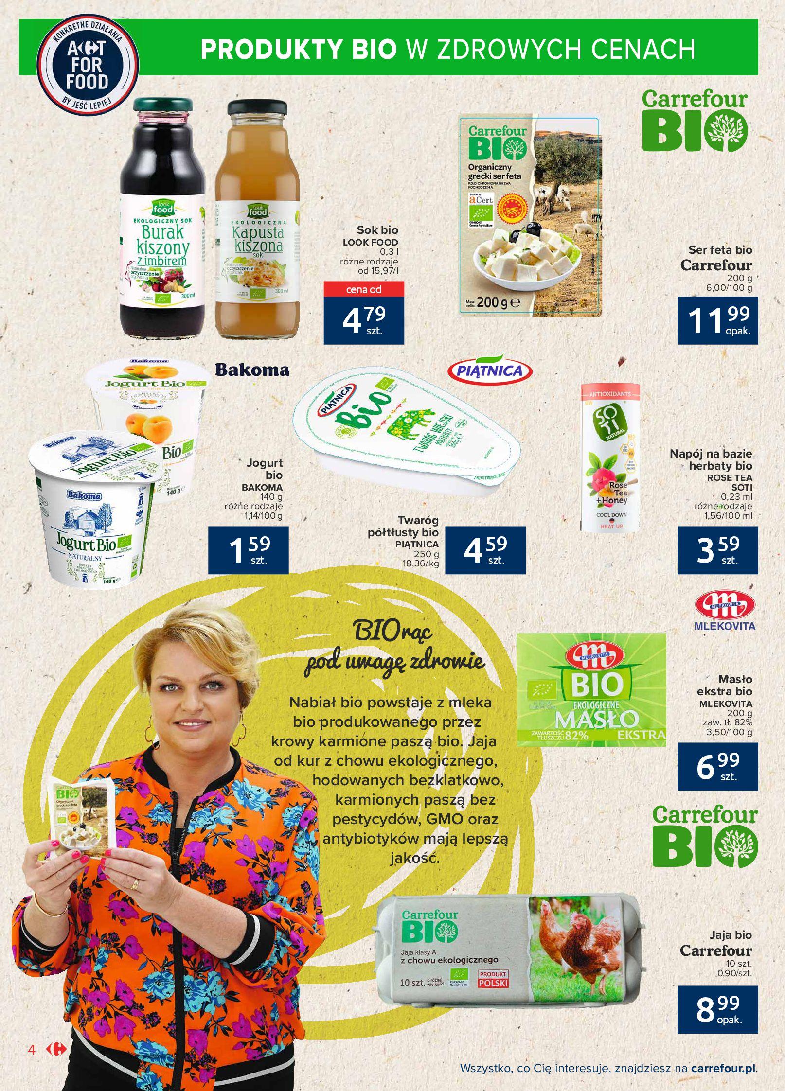 Gazetka Carrefour Market: Gazetka Market - Możemy mądrze jeść 2021-09-14 page-4