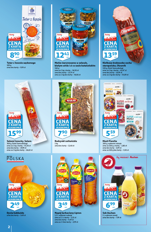 Gazetka Auchan: Gazetka Auchan - Skarbonka #41 2021-10-14 page-2