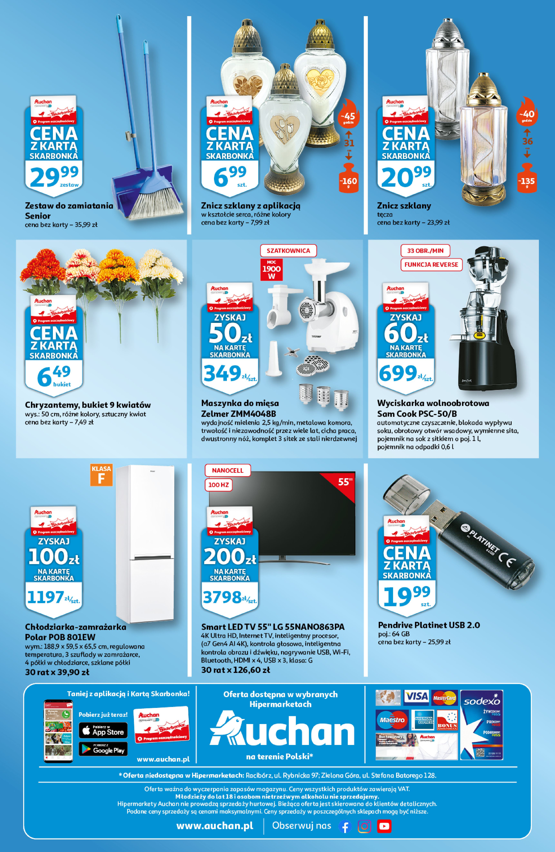 Gazetka Auchan: Gazetka Auchan - Skarbonka #41 2021-10-14 page-4