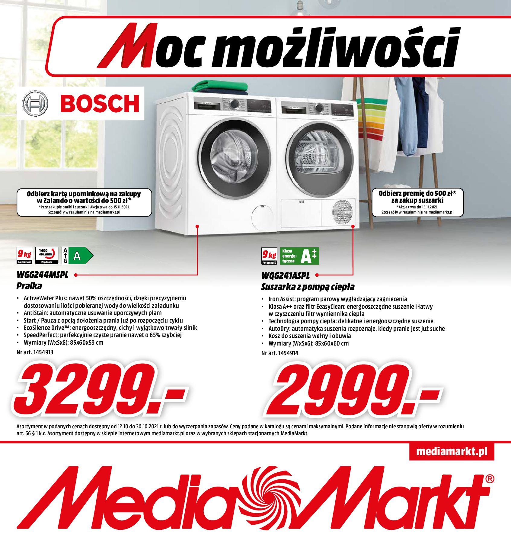 Media Markt:  Gazetka media Markt - Moc możliwości 11.10.2021