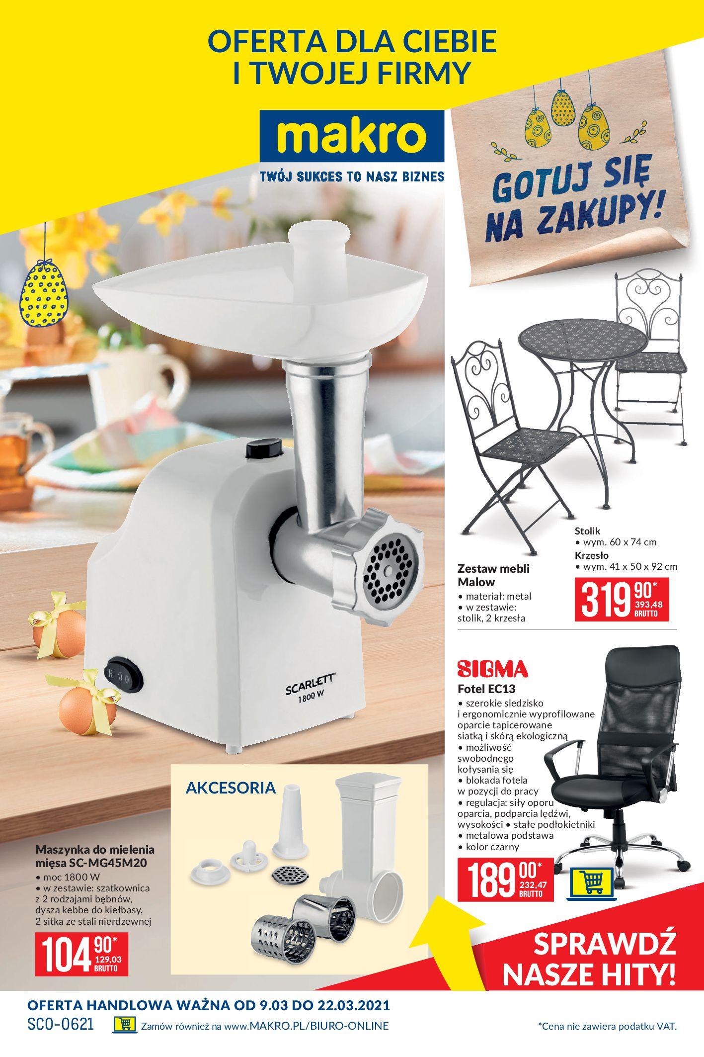 Gazetka Makro -artykuly-przemyslowe-2021-03-09-2021-03-22 09.03-22.03