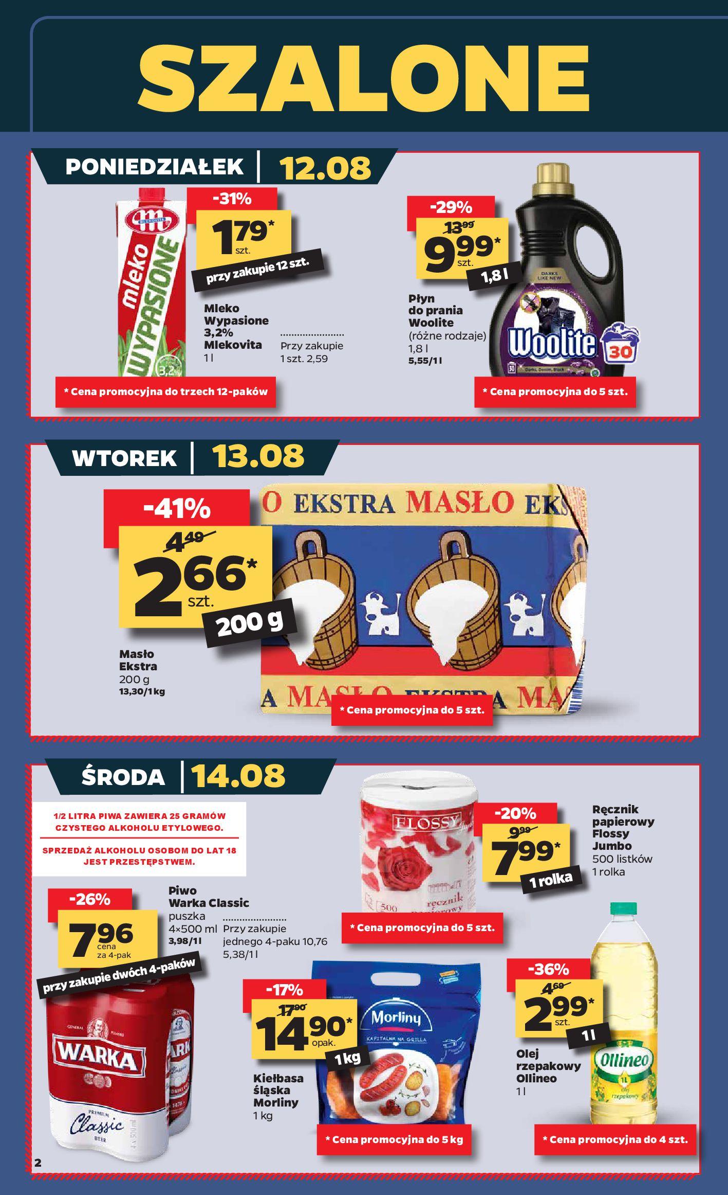 Gazetka Netto - Gazetka spożywcza-11.08.2019-17.08.2019-page-