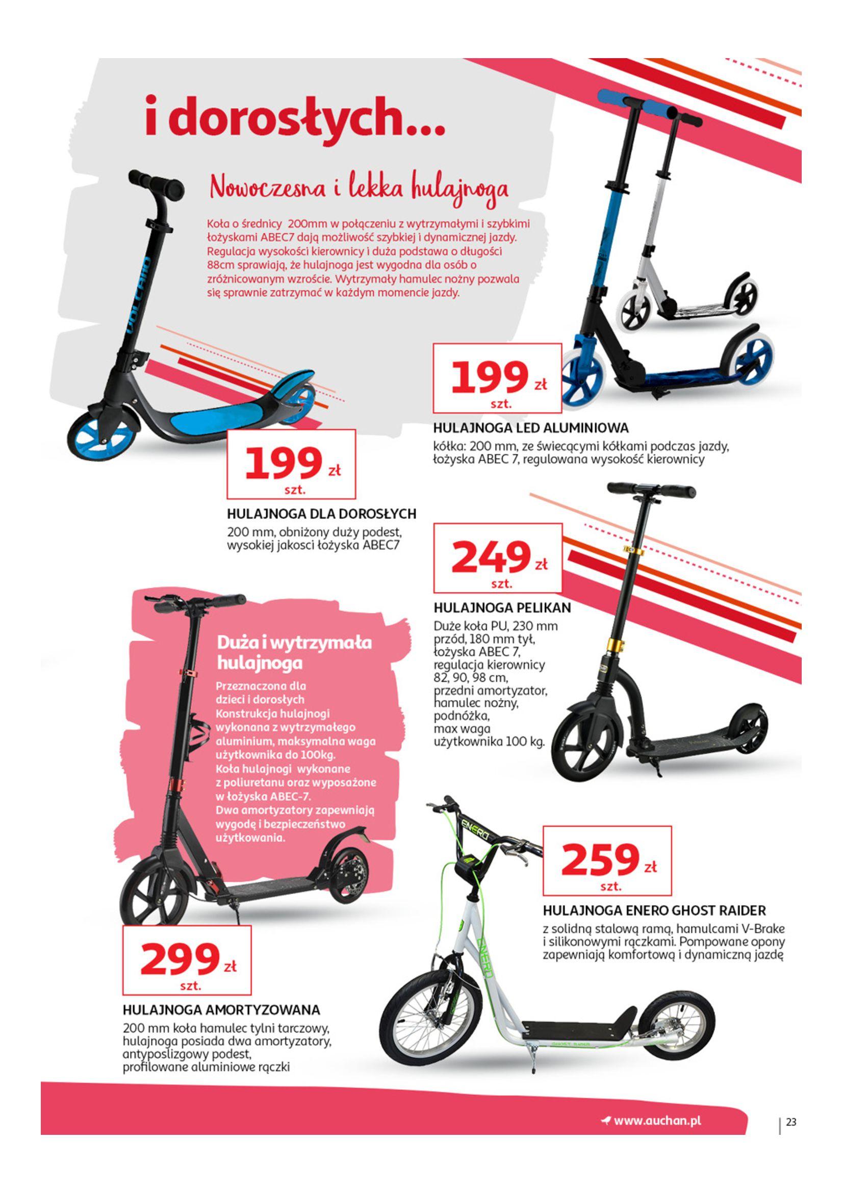 Gazetka Auchan - Wiosenne podróże Hipermarkety-14.05.2019-05.06.2019-page-