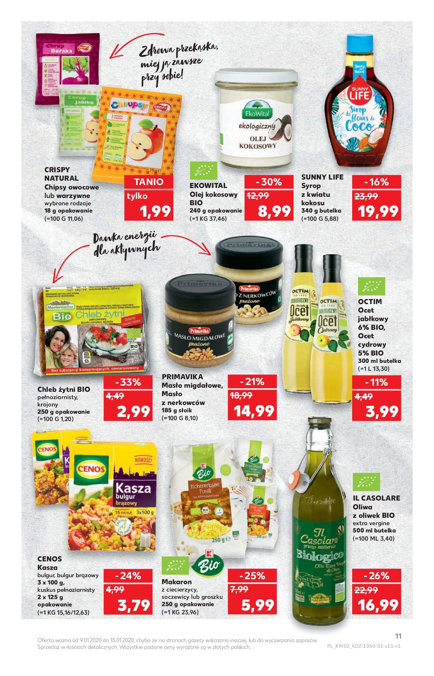 Gazetka Kaufland - TYDZIEŃ MEGA OSZCZĘDNOŚCI!-08.01.2020-15.01.2020-page-11