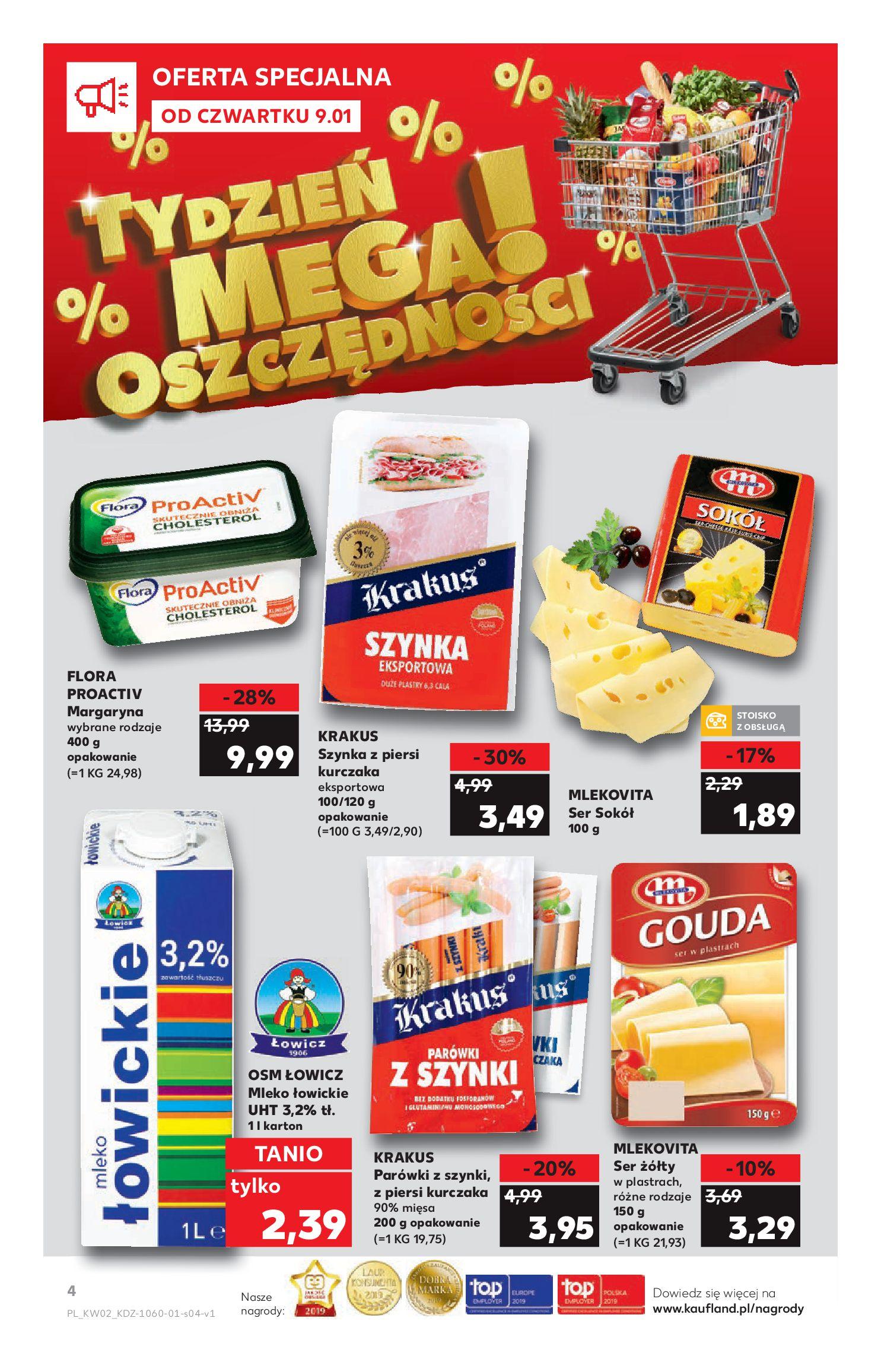 Gazetka Kaufland - TYDZIEŃ MEGA OSZCZĘDNOŚCI!-08.01.2020-15.01.2020-page-4