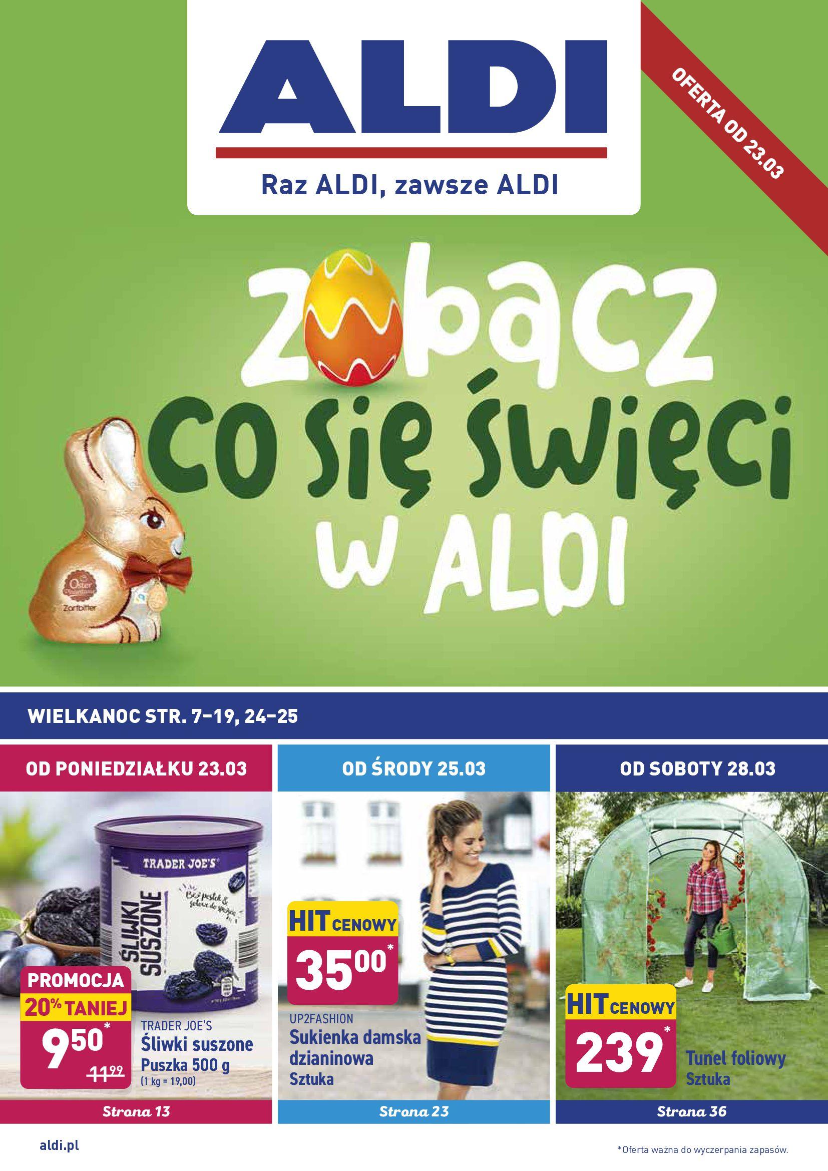 Gazetka Aldi - Okazje tygodnia od 23.03-22.03.2020-28.03.2020-page-1