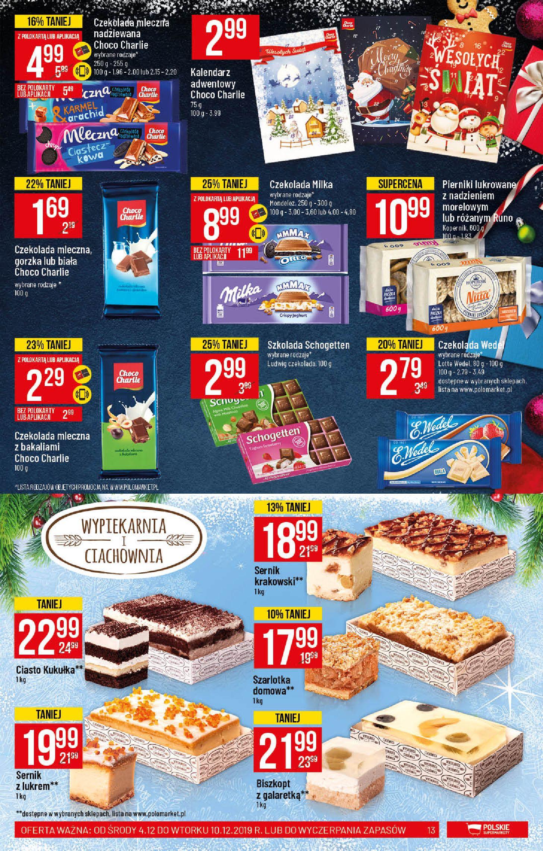 Gazetka Polomarket - Wszystko co ulubione Na Święta-03.12.2019-10.12.2019-page-13