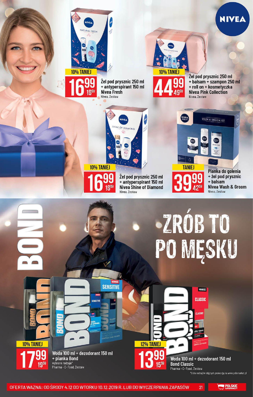 Gazetka Polomarket - Wszystko co ulubione Na Święta-03.12.2019-10.12.2019-page-21