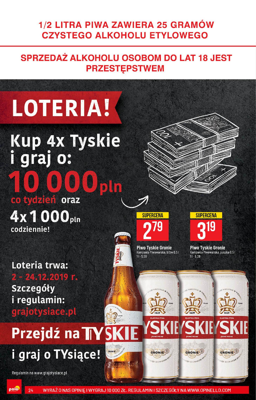 Gazetka Polomarket - Wszystko co ulubione Na Święta-03.12.2019-10.12.2019-page-24