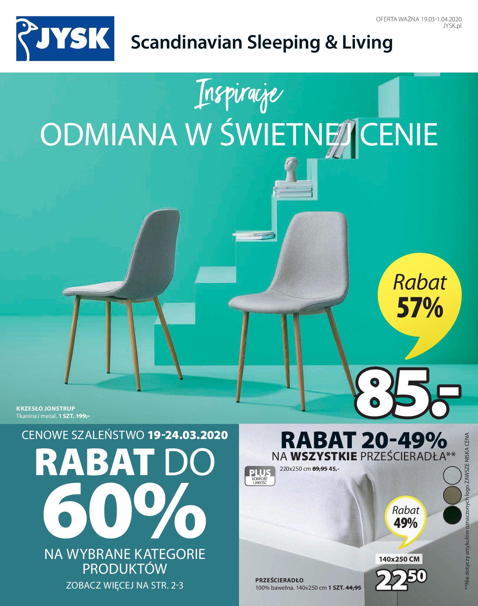 Gazetka Jysk - Oferta tygodnia-18.03.2020-01.04.2020-page-2