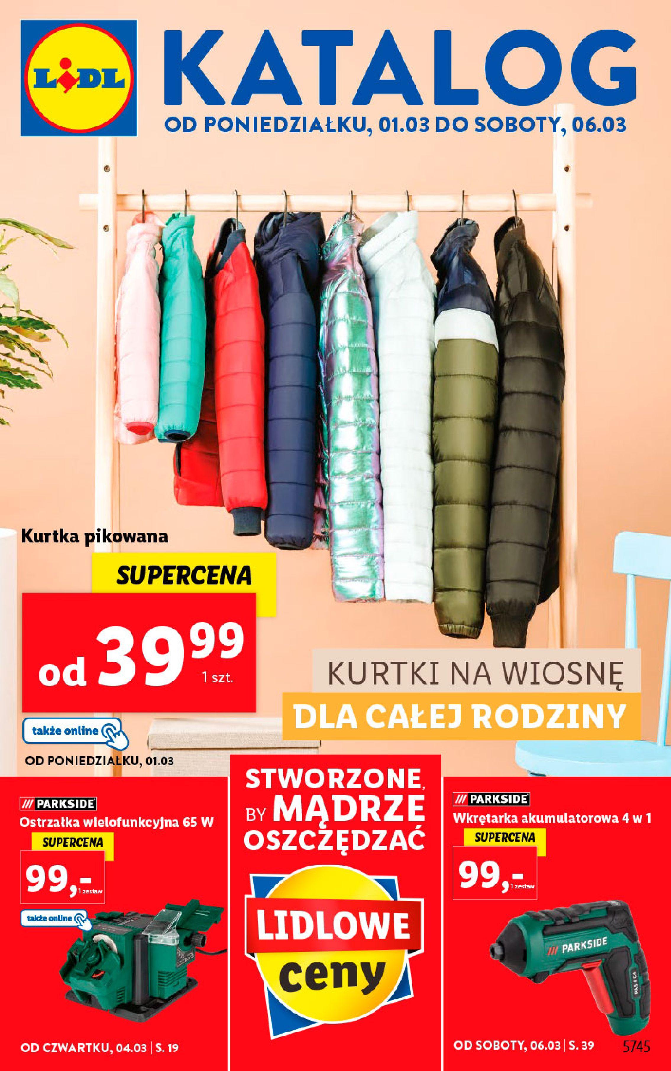 Gazetka Lidl: Katalog od 01.03 2021-03-01 page-1