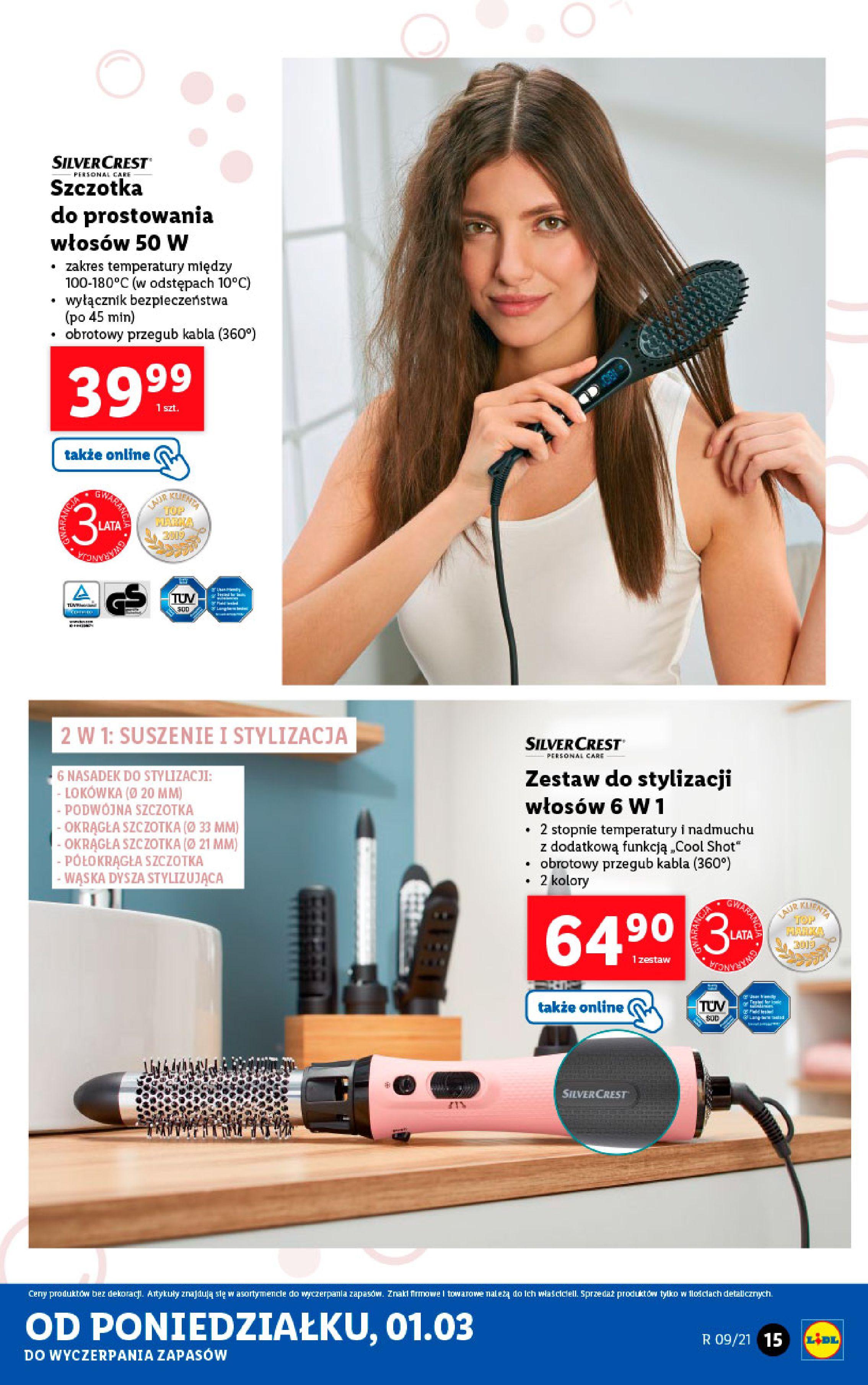 Gazetka Lidl: Katalog od 01.03 2021-03-01 page-15