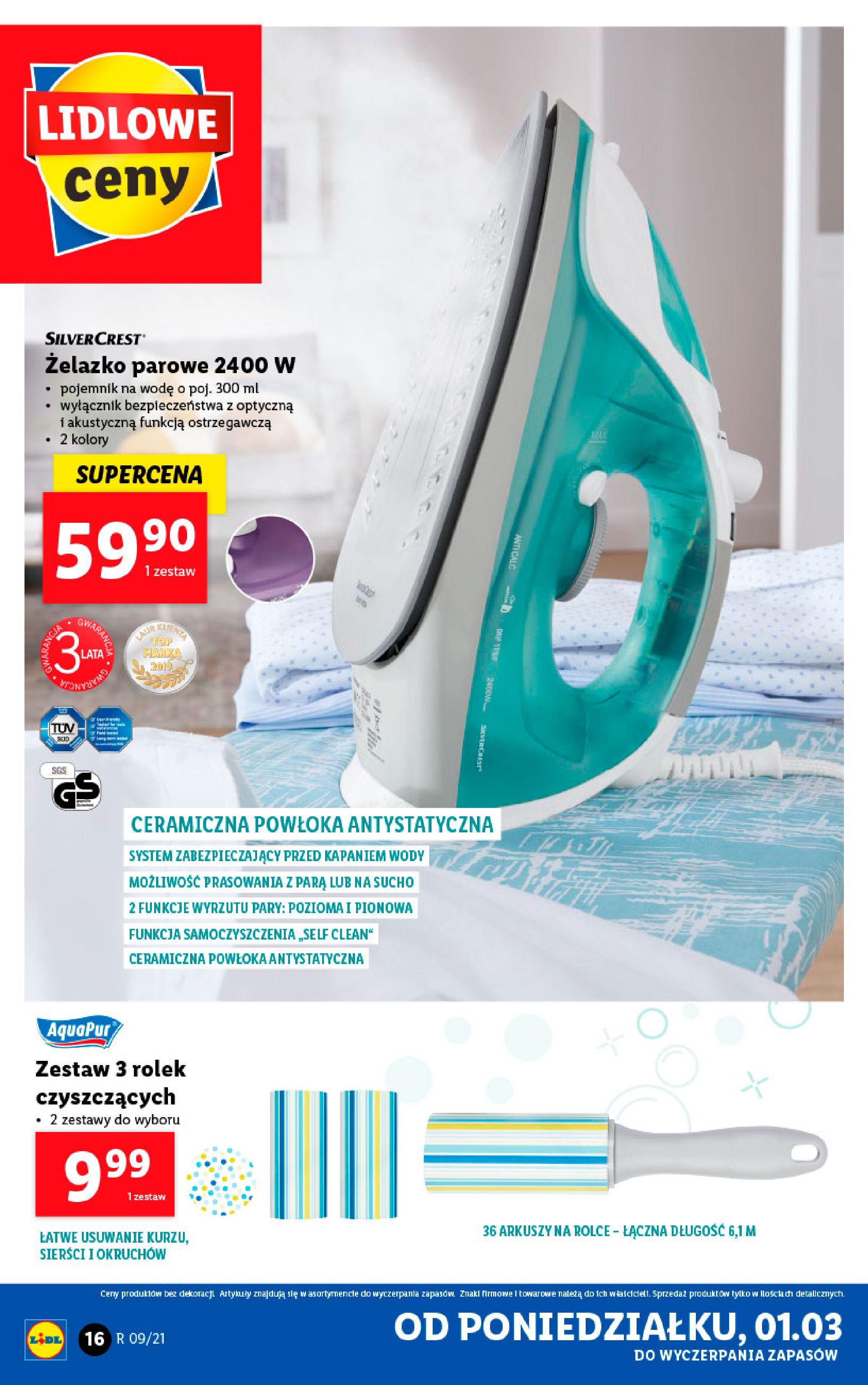 Gazetka Lidl: Katalog od 01.03 2021-03-01 page-16
