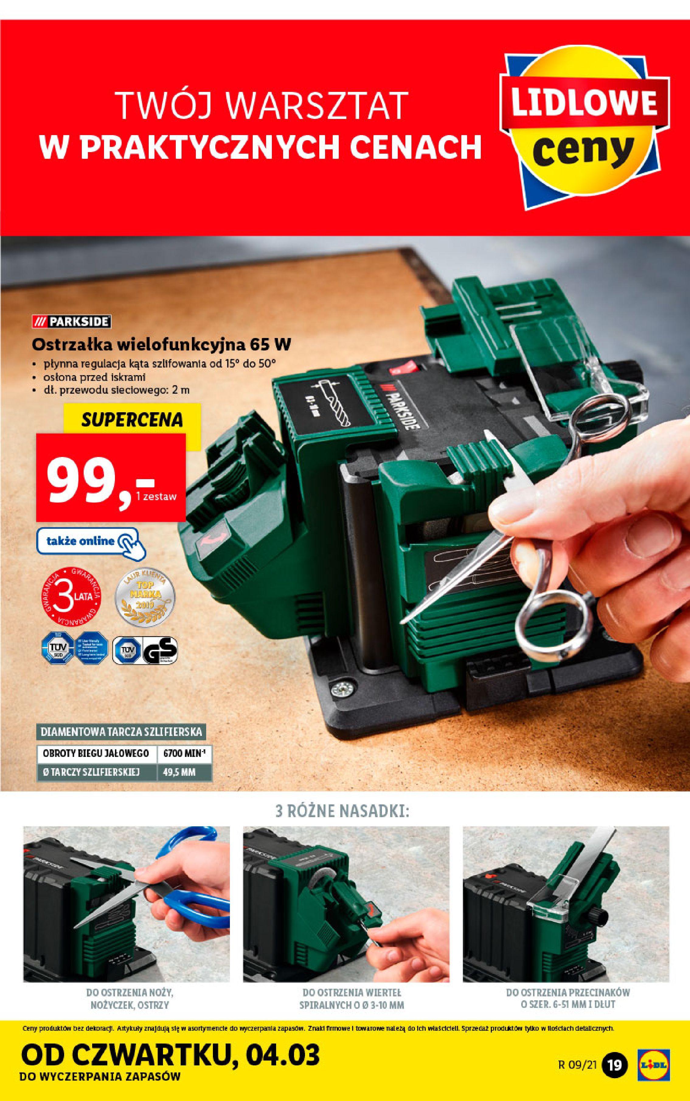 Gazetka Lidl: Katalog od 01.03 2021-03-01 page-19