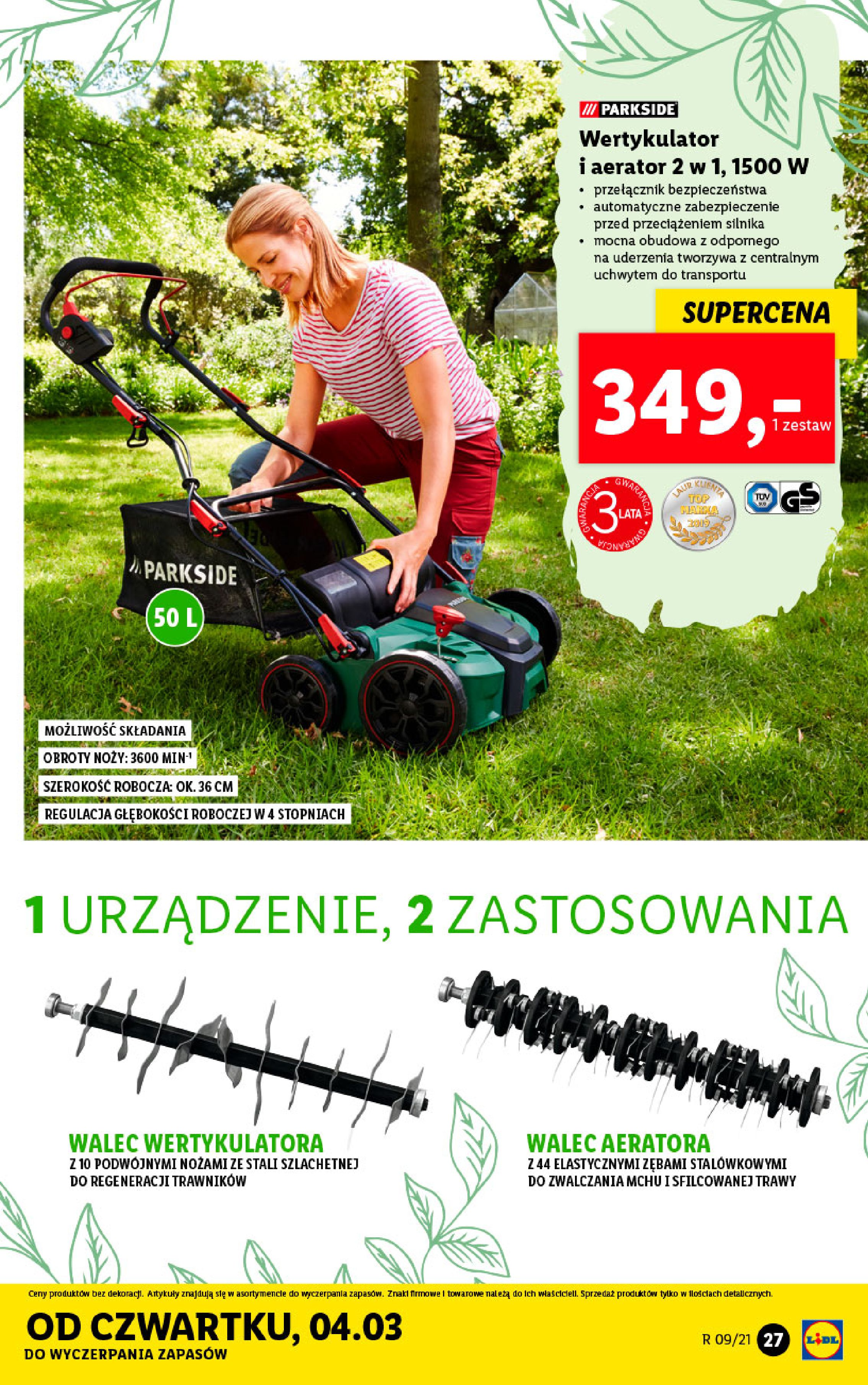 Gazetka Lidl: Katalog od 01.03 2021-03-01 page-27
