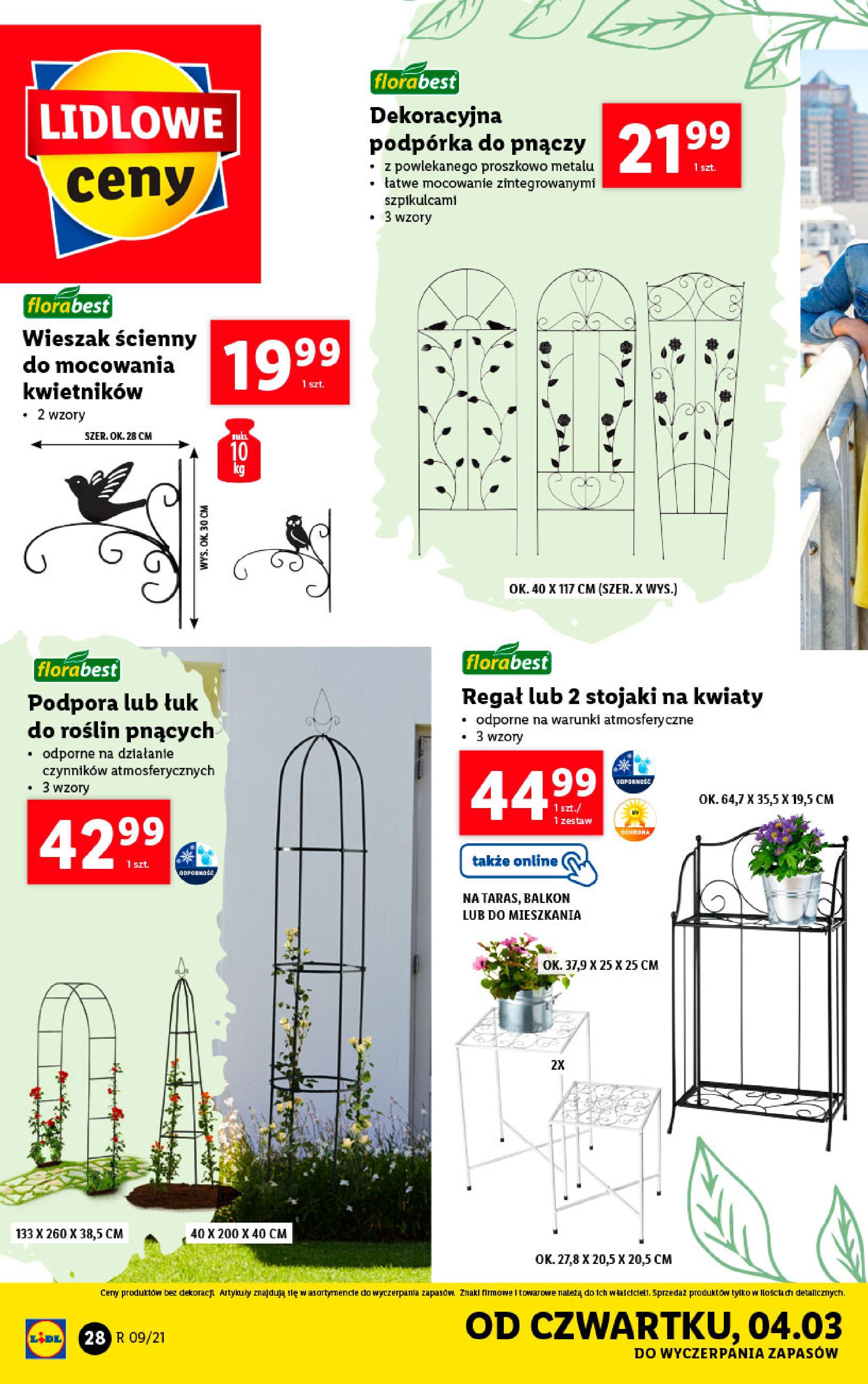 Gazetka Lidl: Katalog od 01.03 2021-03-01 page-28