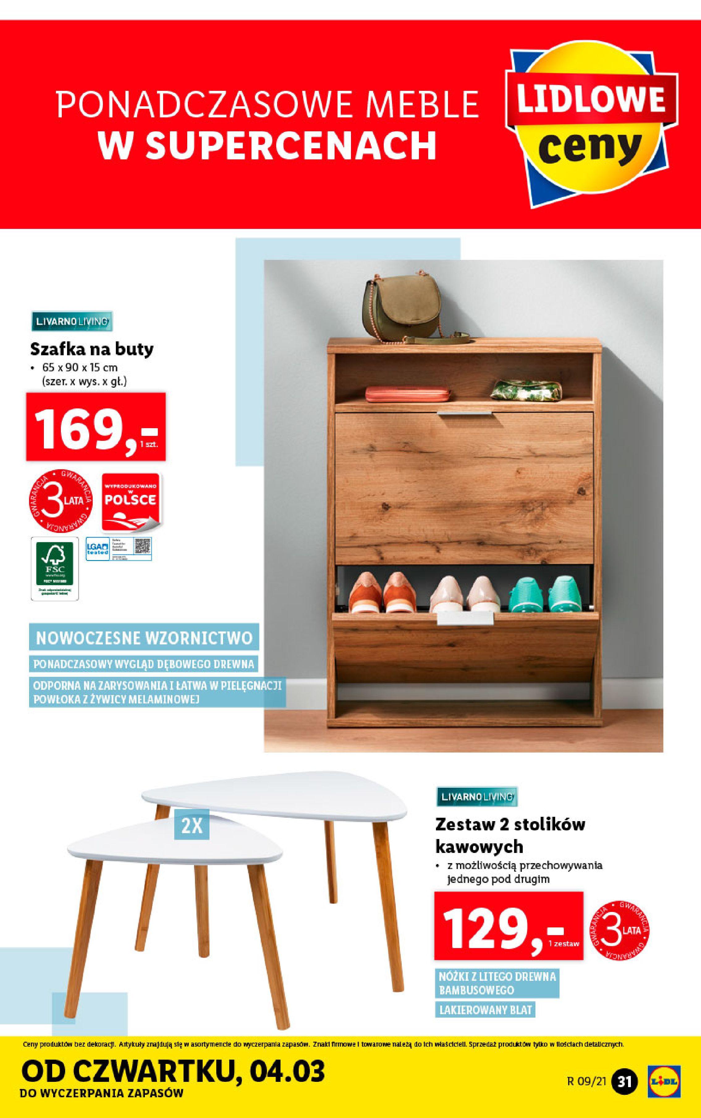 Gazetka Lidl: Katalog od 01.03 2021-03-01 page-31