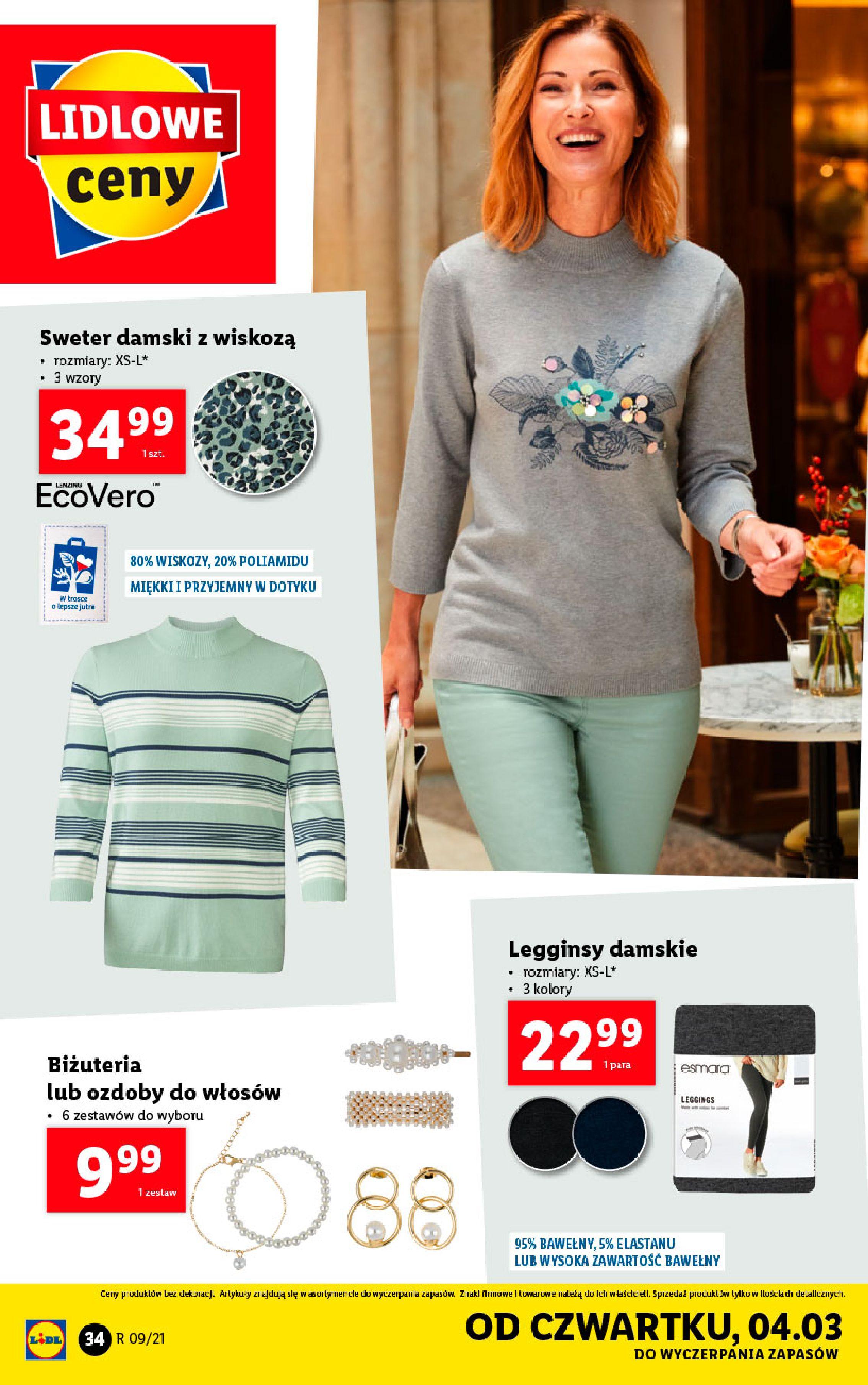 Gazetka Lidl: Katalog od 01.03 2021-03-01 page-34