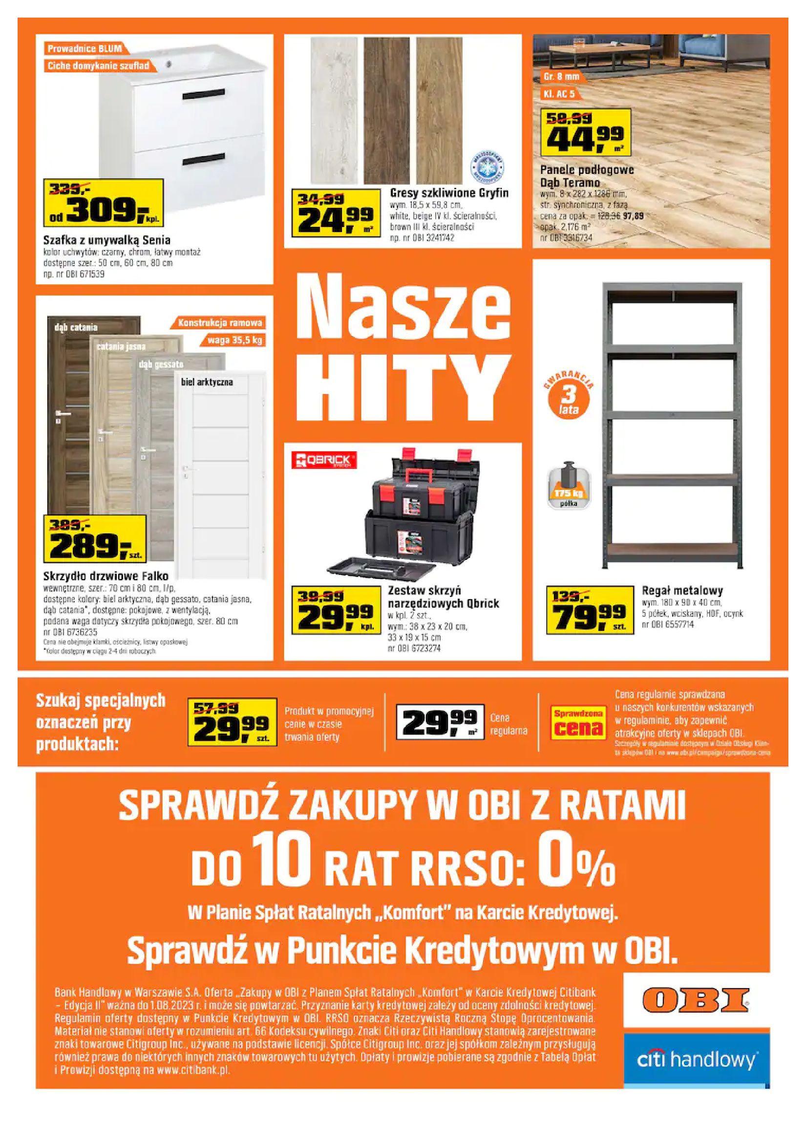 Gazetka OBI: Gazetka OBI - Jesienny remont 2021-09-15 page-20