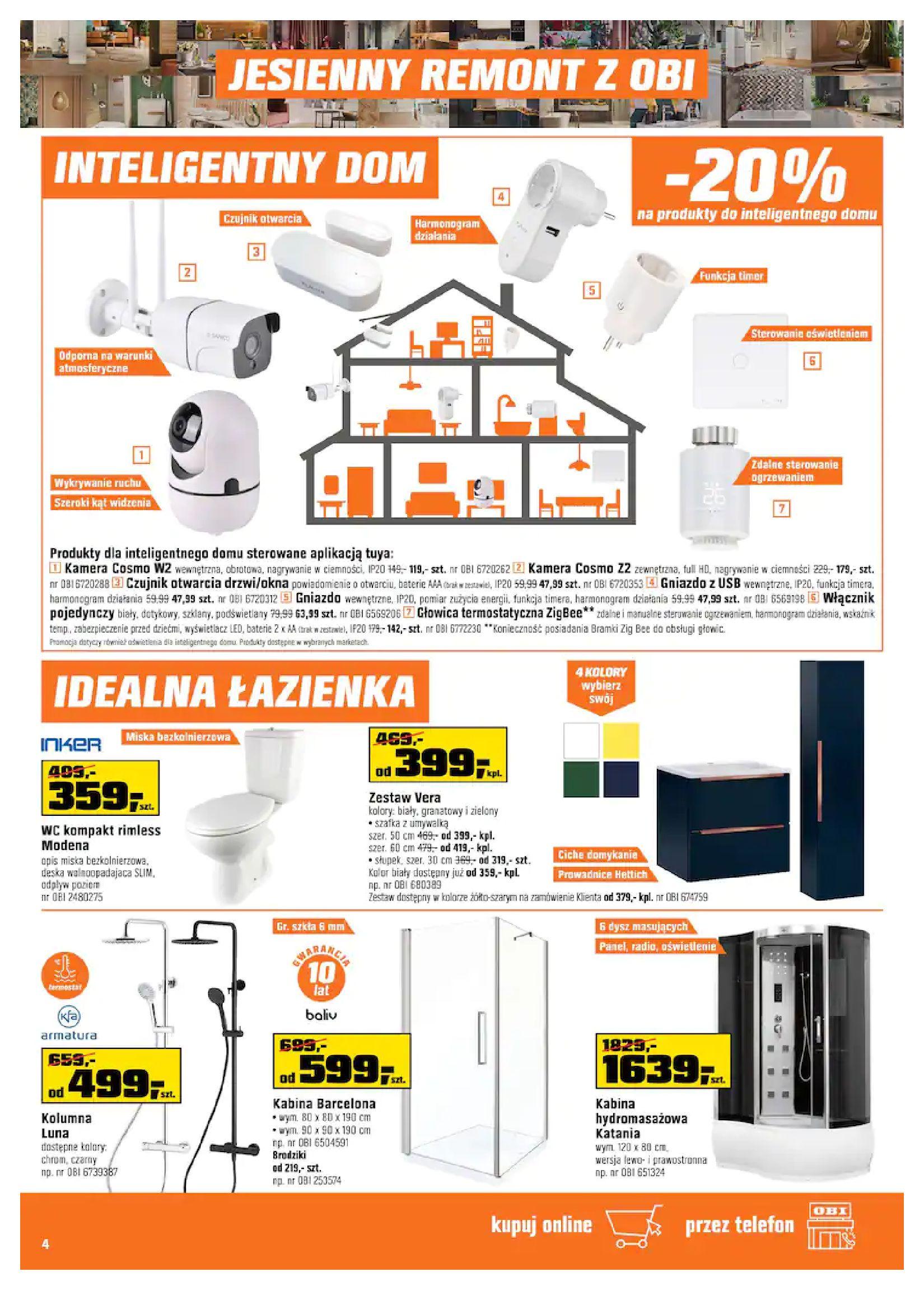 Gazetka OBI: Gazetka OBI - Jesienny remont 2021-09-15 page-4