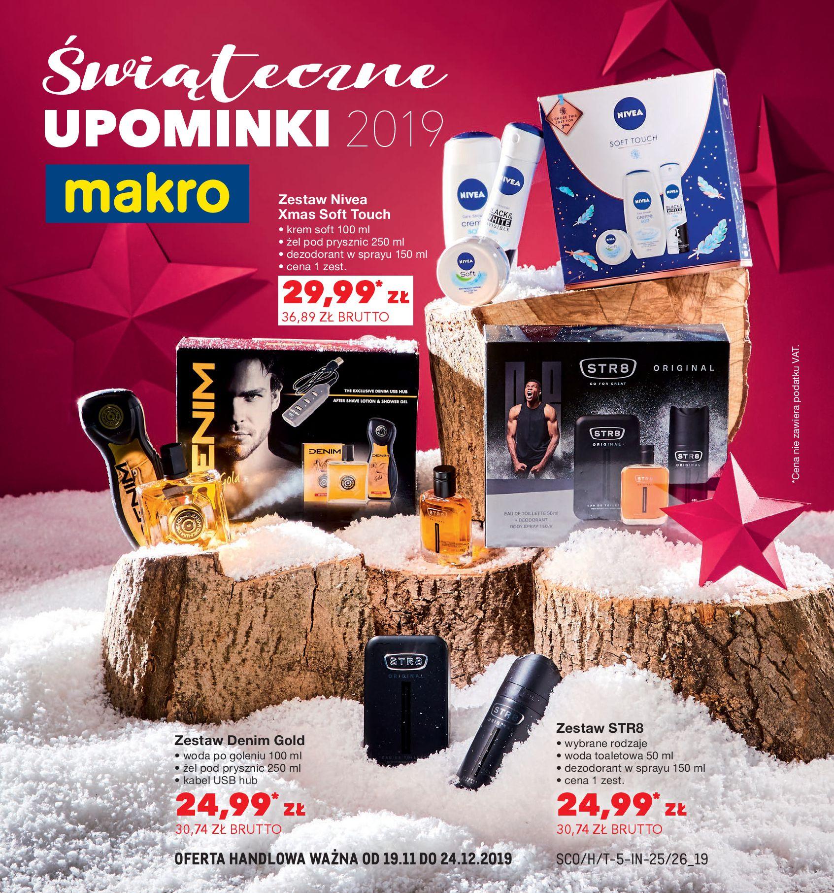 Gazetka Makro - Świąteczne UPOMINKI 2019-18.11.2019-24.12.2019-page-1